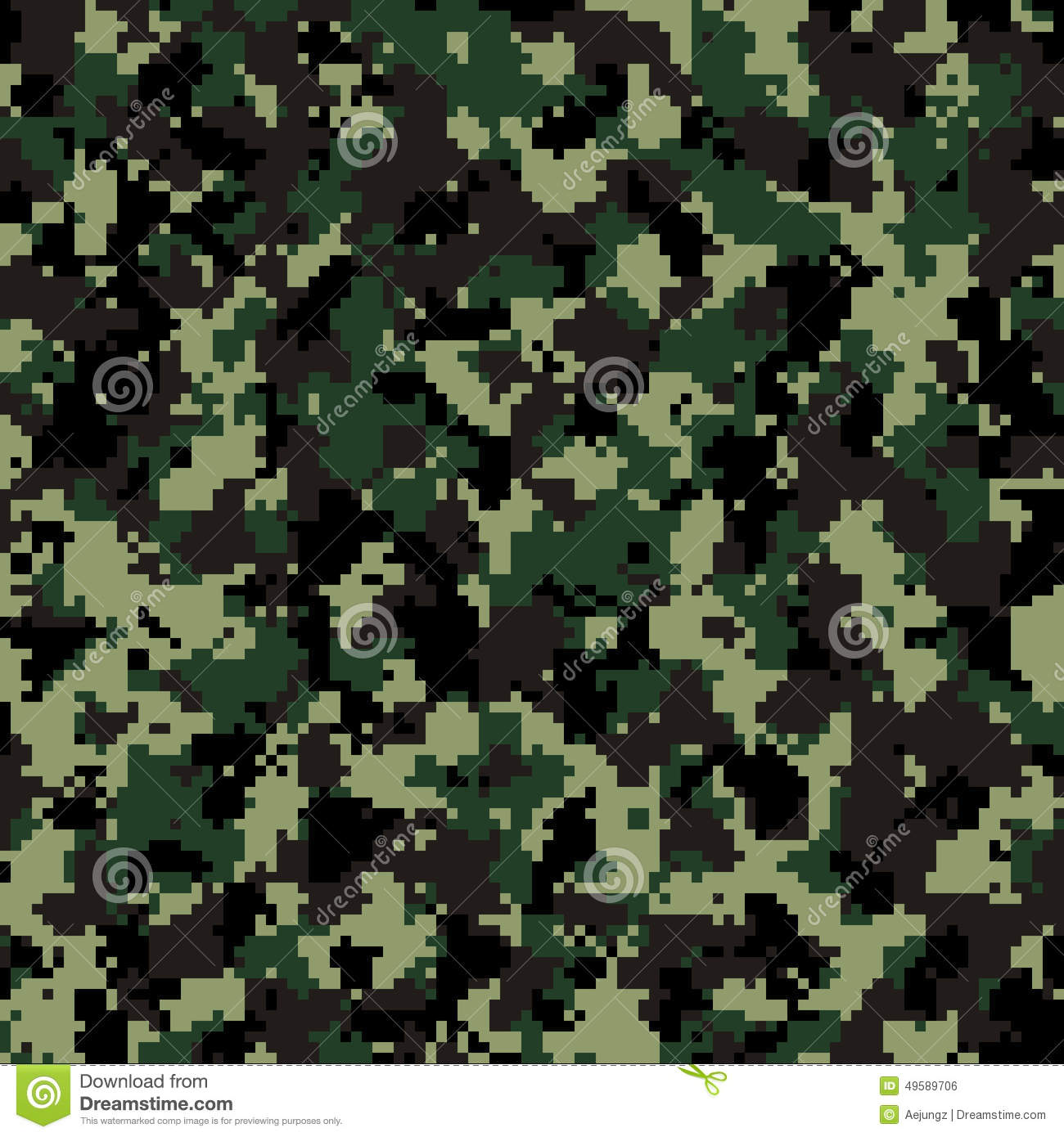 banco de jardim vetor : banco de jardim vetor:Imagem de Stock Royalty Free: Thai Army digital camouflage pattern
