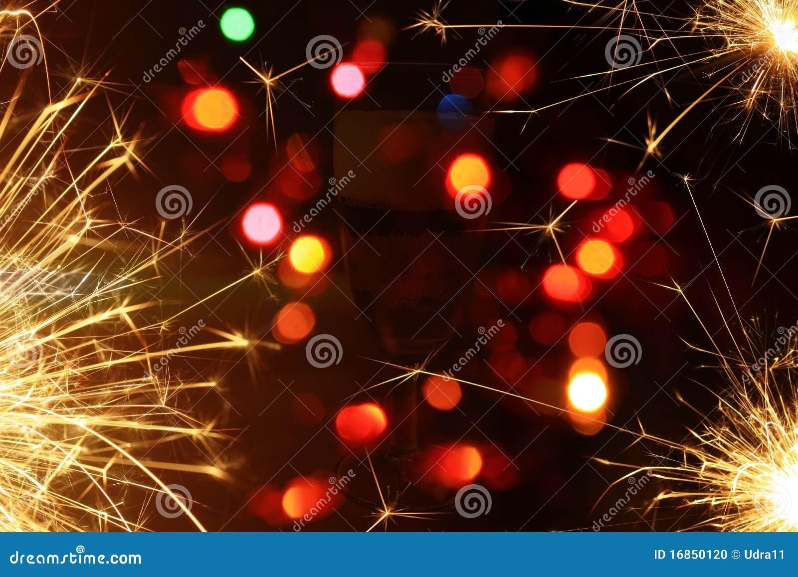Fundo do ano novo feliz
