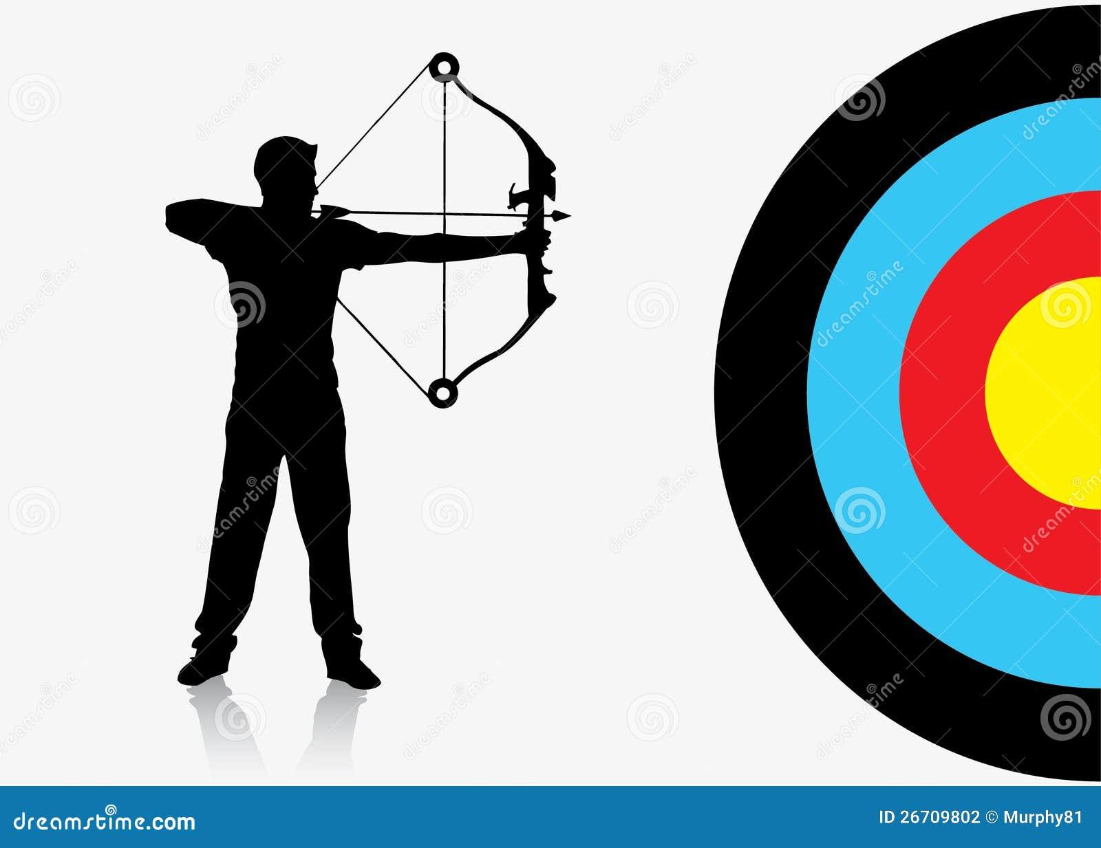 Fundo do archer do esporte