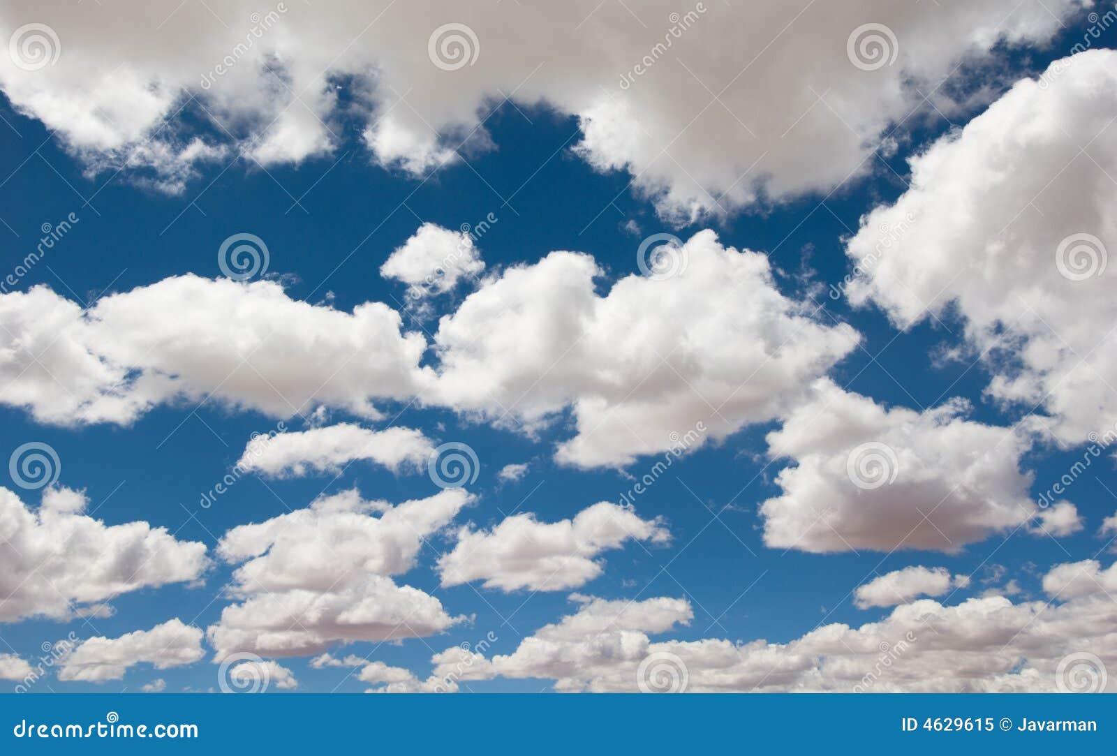 Fundo do céu nebuloso