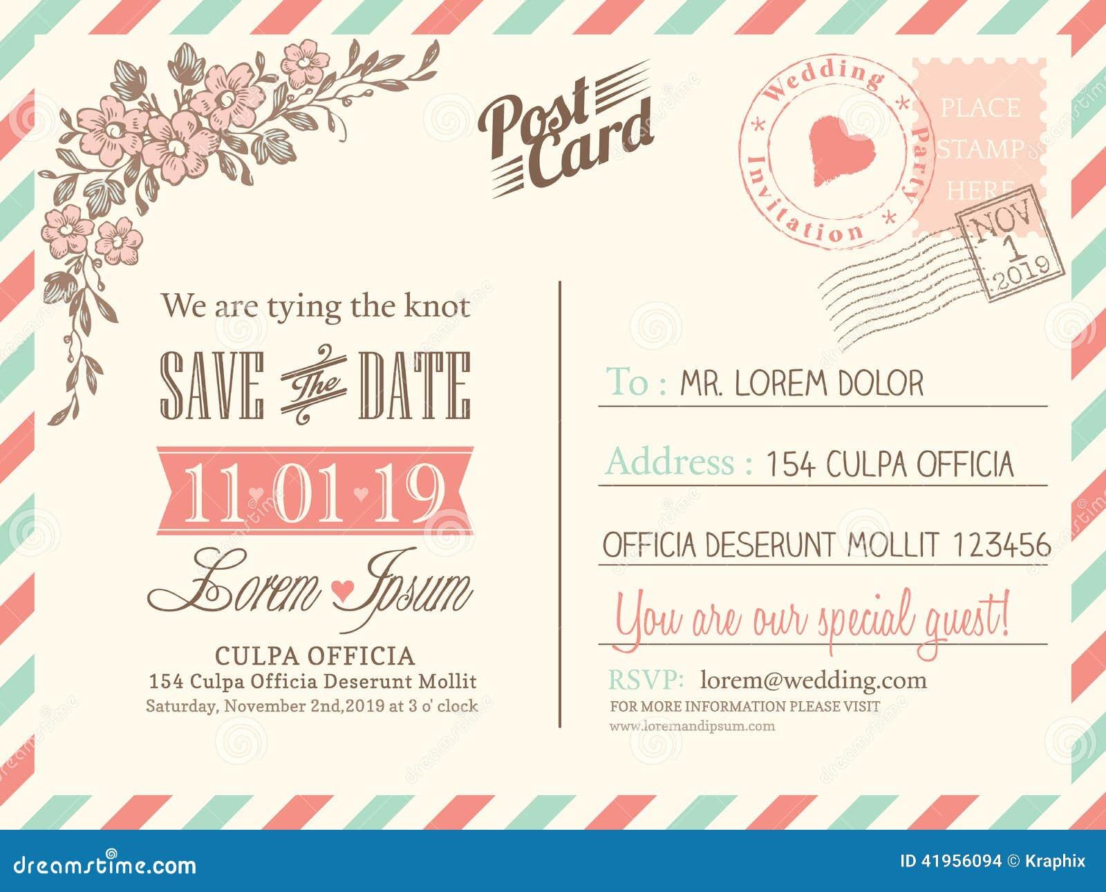 Fundo do cartão do vintage para o convite do casamento