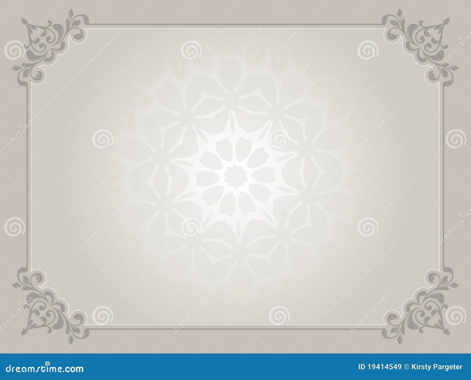 Fundo do certificado ilustração do vetor. Ilustração de ...