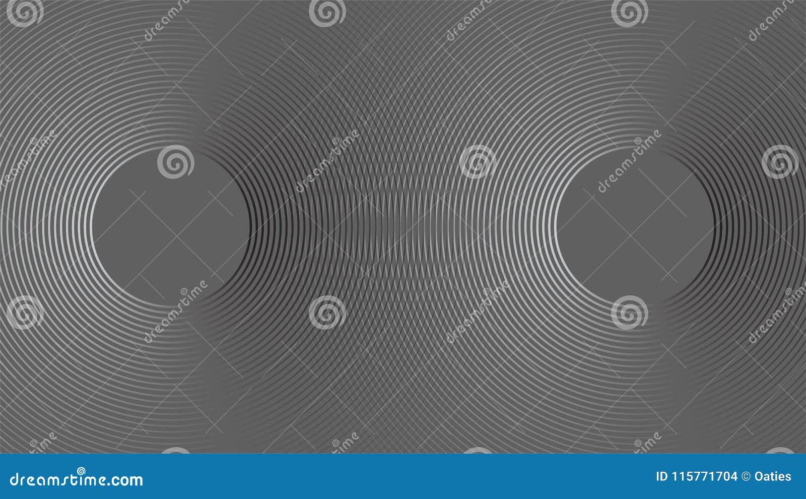 Fundo do conceito da reflexão da onda da sonar