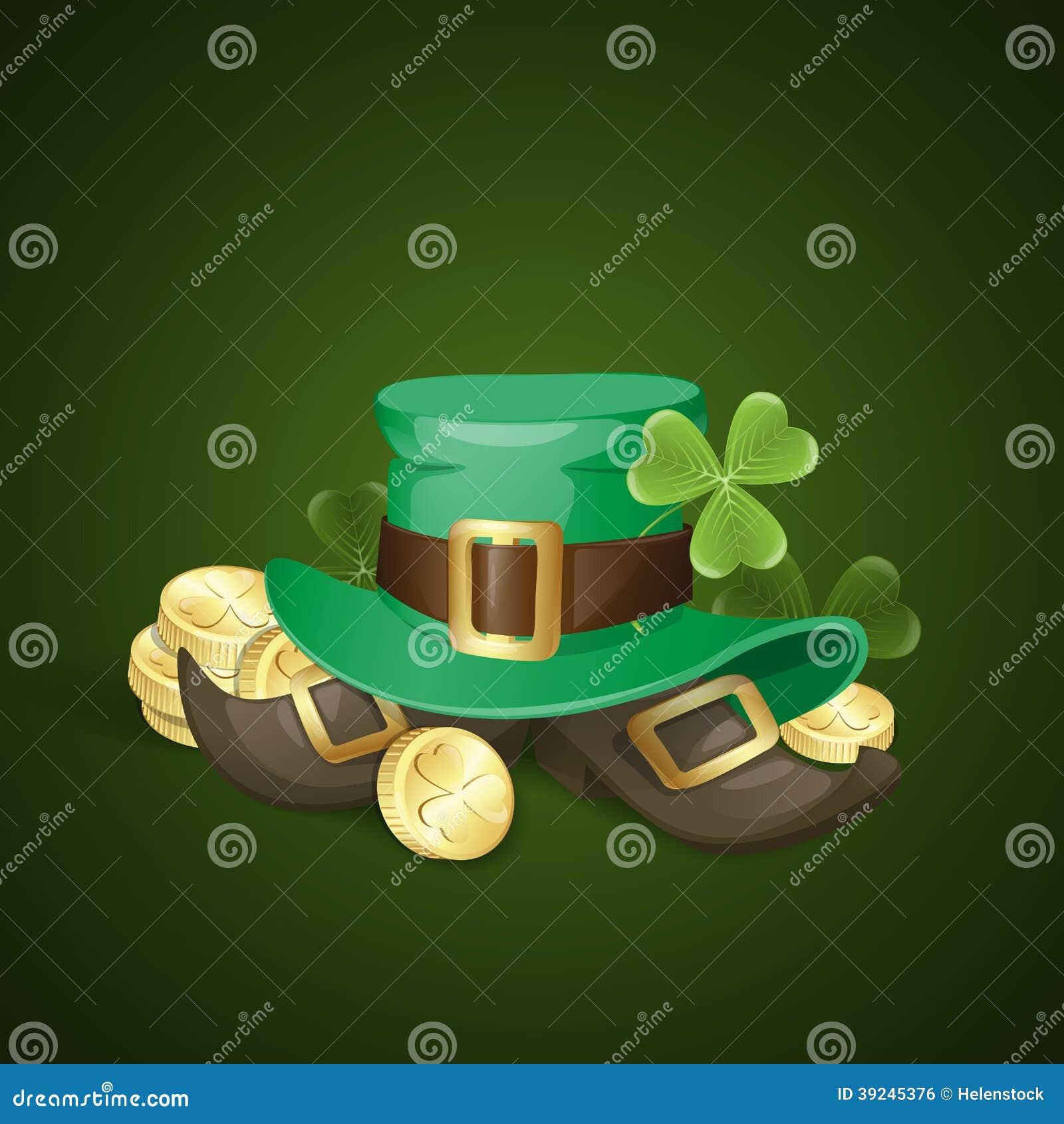 Fundo do dia de St Patrick