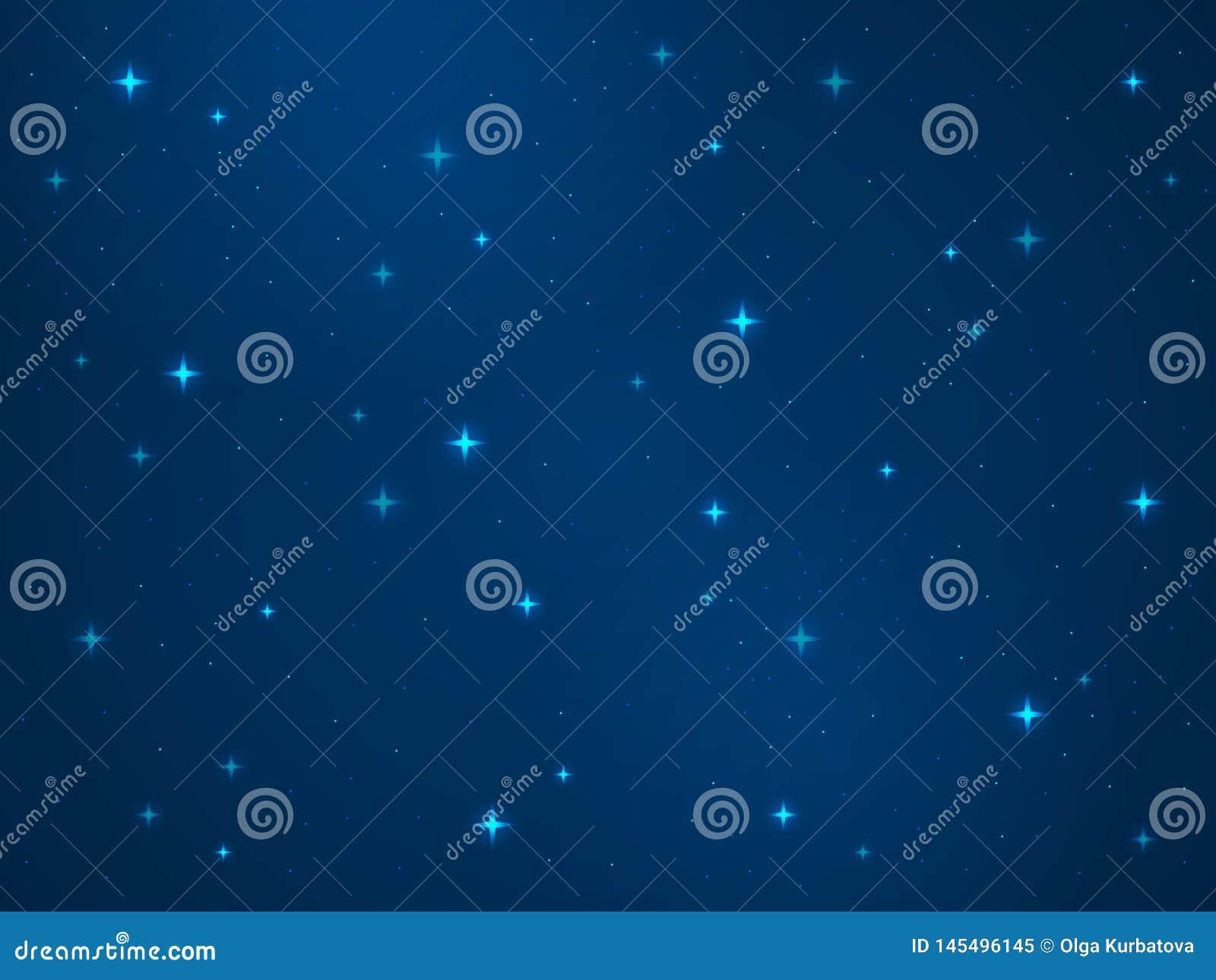 Fundo do espa?o dos desenhos animados Textura estrelado da astronomia da gal?xia da Via L?tea da estrela da luz da poeira do univ