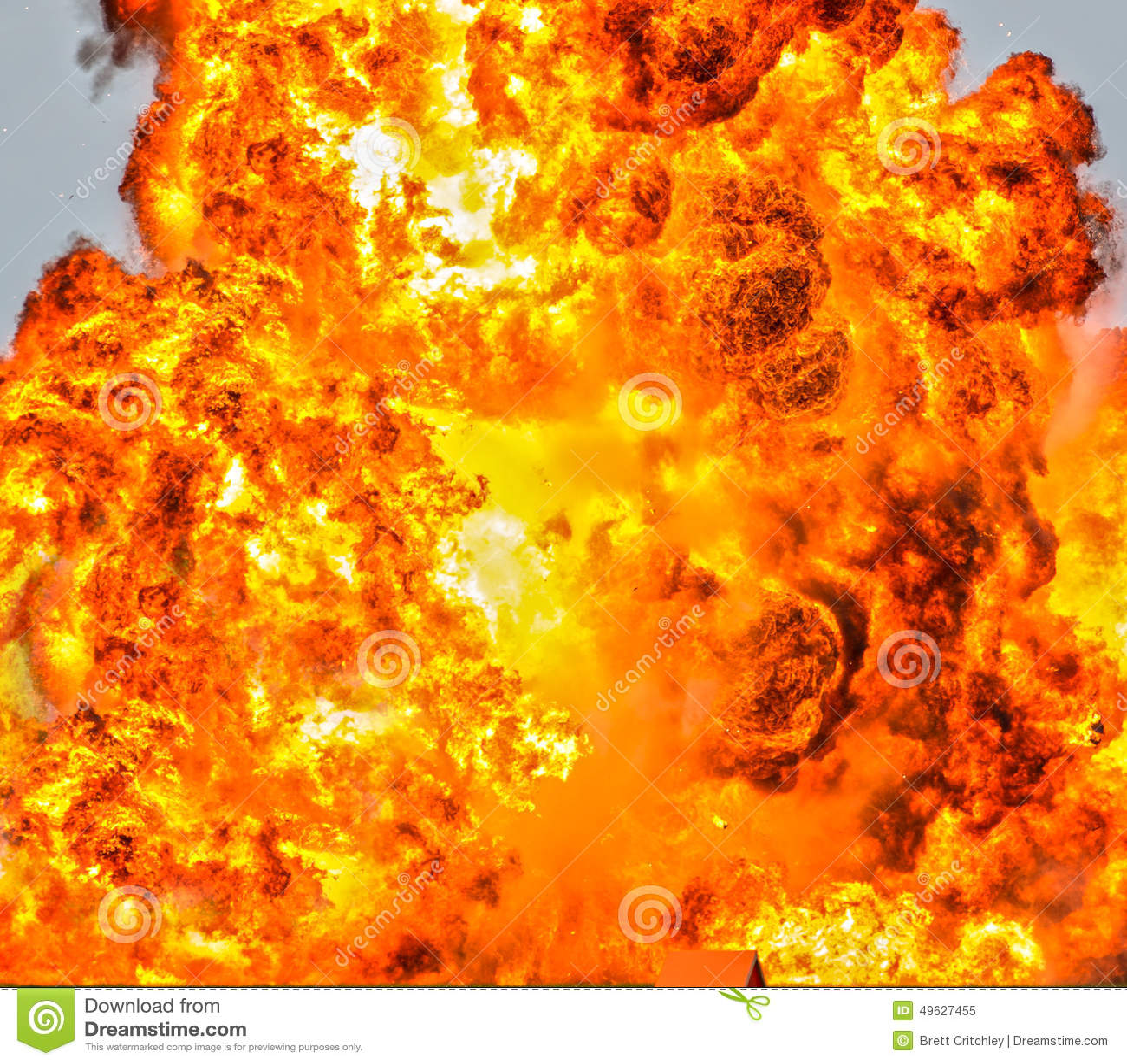 Fundo do fogo do inferno