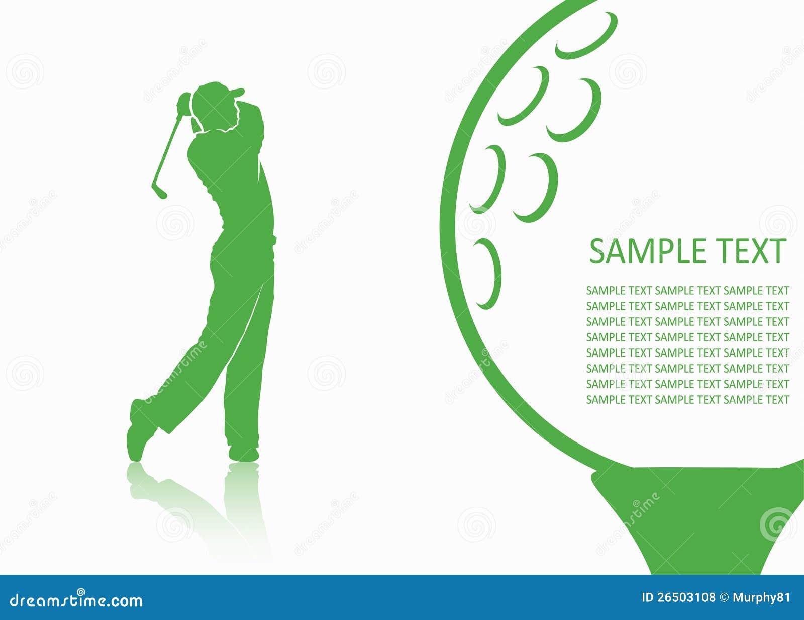 Fundo do golfe