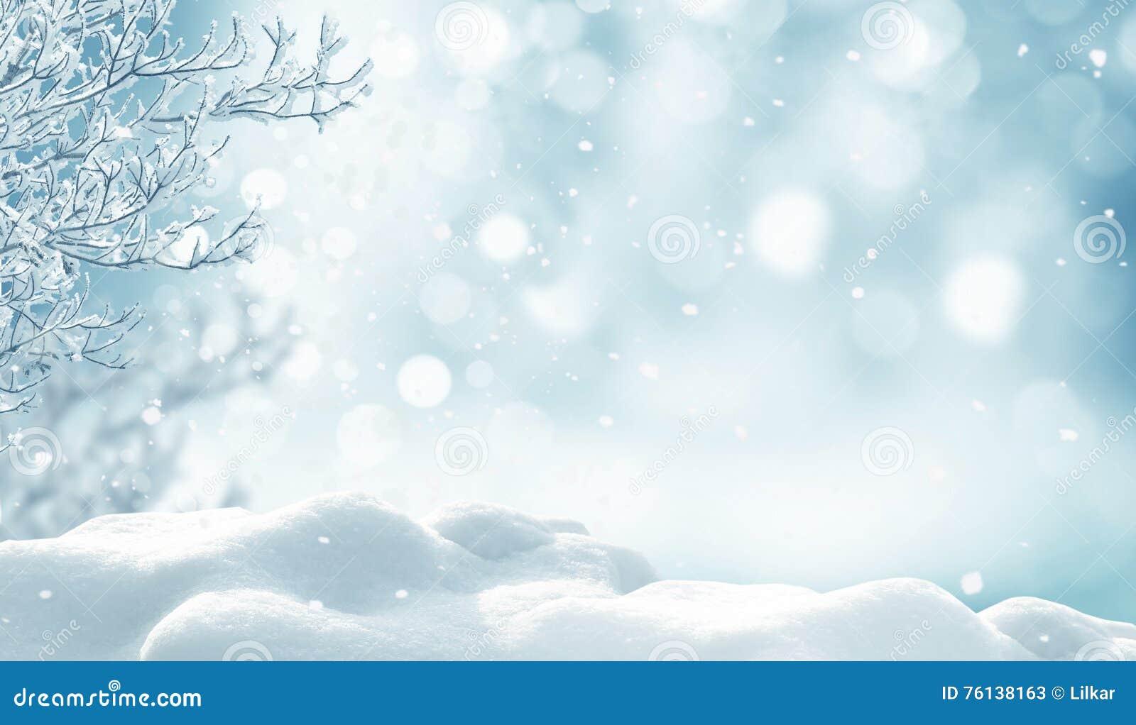 Fundo do Natal do inverno