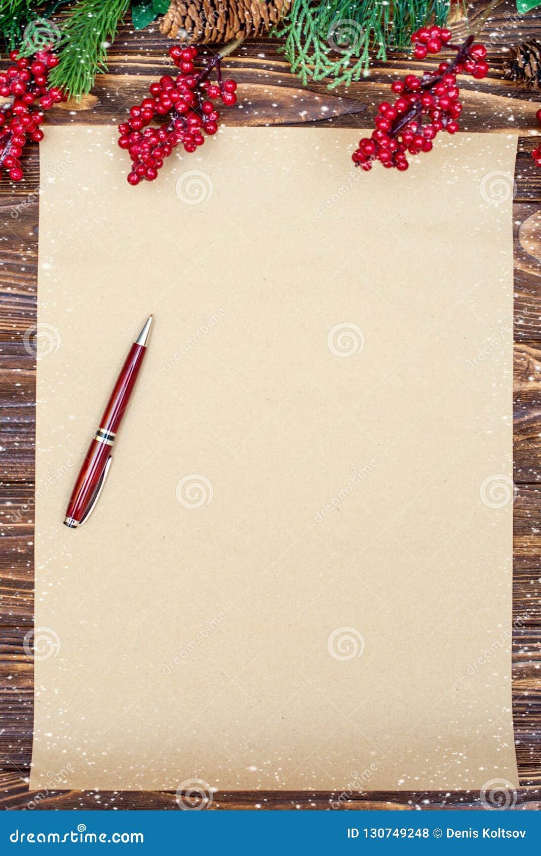 Fundo do Natal Papel de embalagem com espaço da cópia para cumprimentos foto ou texto do feriado cartão festivo do xmas Vista sup