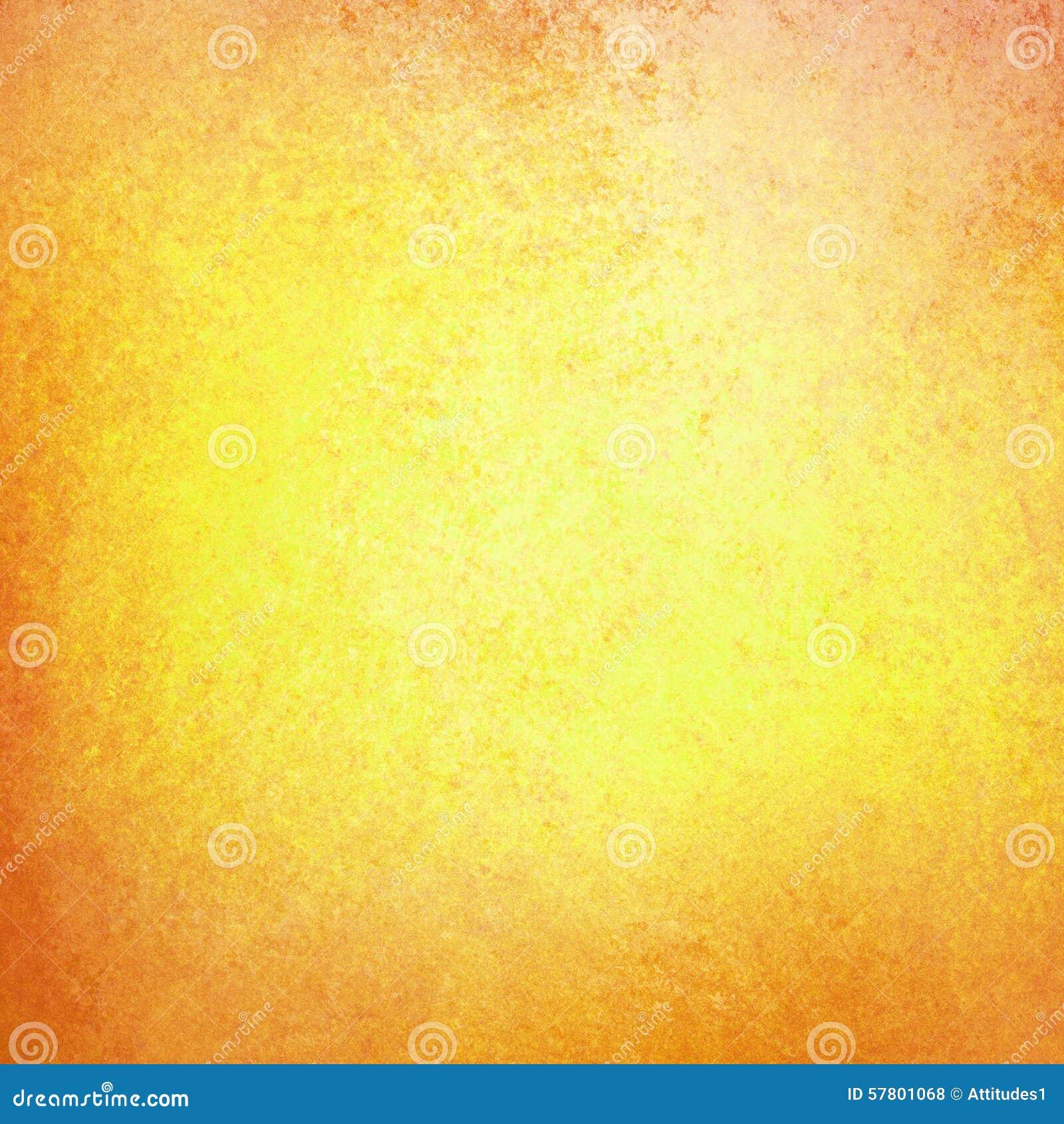 Fundo do outono no ouro amarelo com textura alaranjada vermelha da beira do grunge