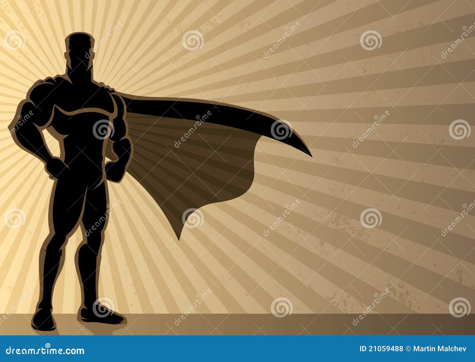 Fundo do super-herói