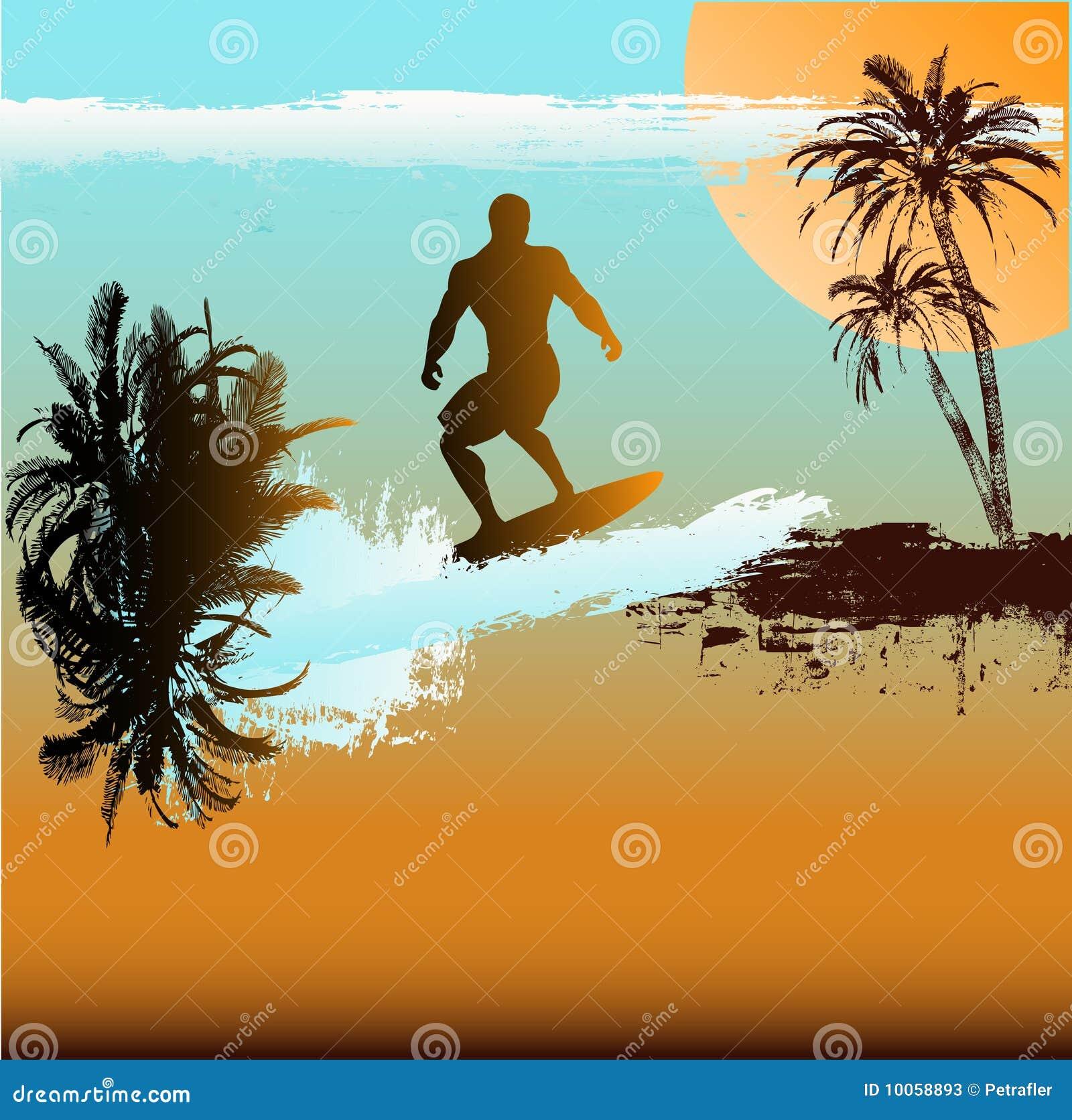 Fundo do surfista
