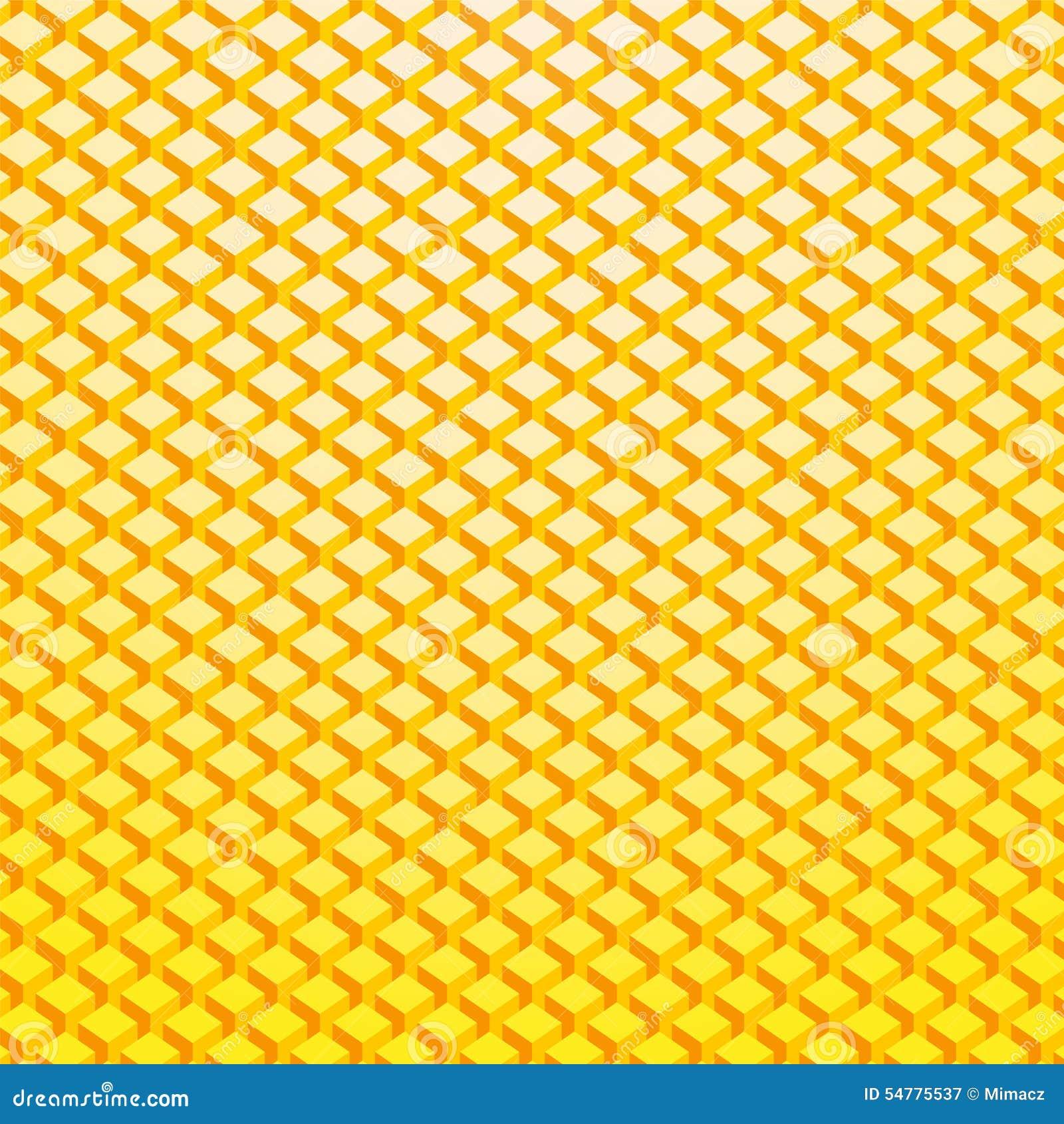 Fundo do tijolo do ouro amarelo