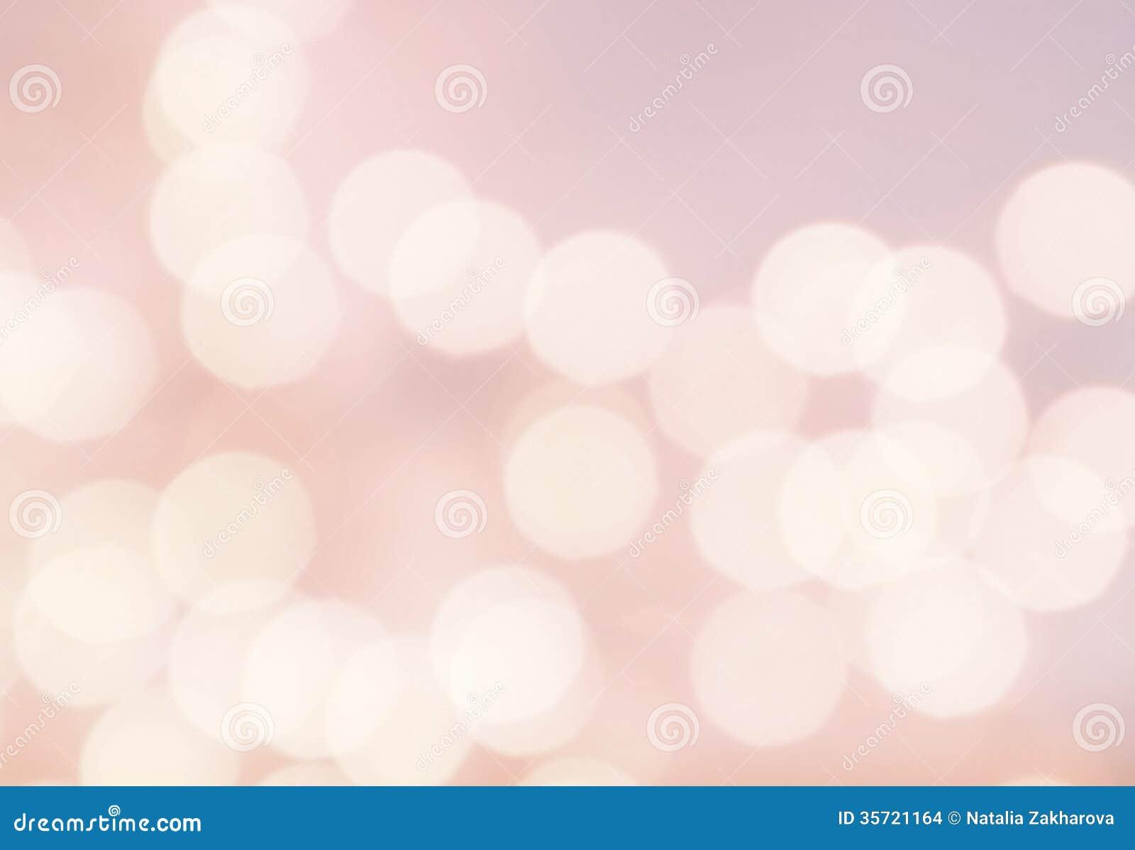 Fundo do vintage da luz de Bokeh. Cor cor-de-rosa brilhante. Natu abstrato