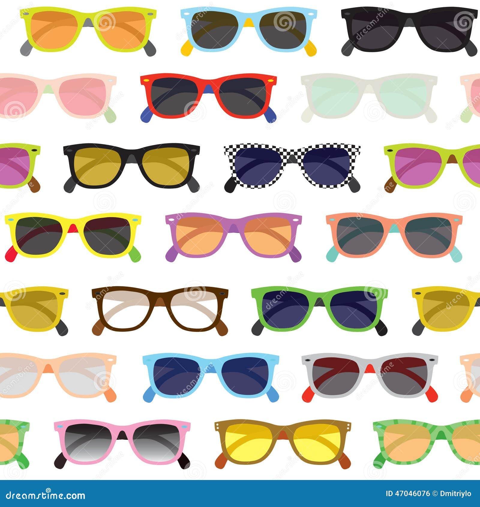 Fundo dos óculos de sol do moderno