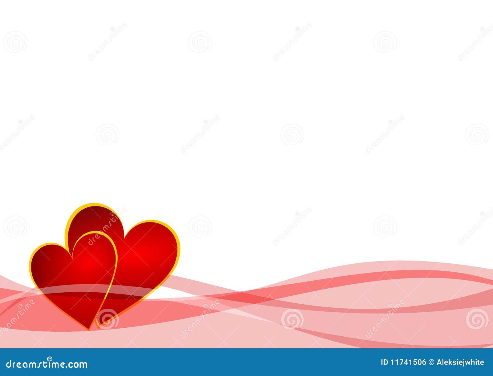 Fundo dos Valentim com corações