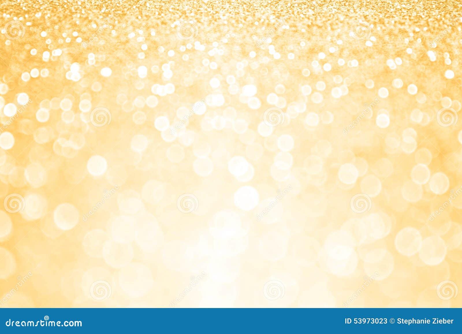 Fundo dourado da festa de anos