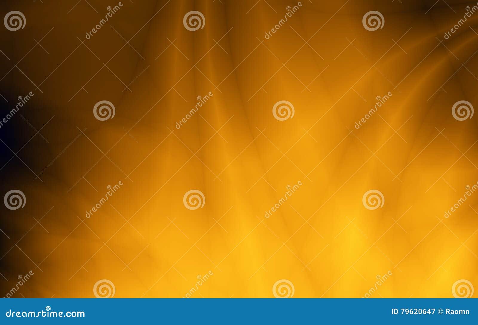 Fundo dourado do cartão do tela panorâmico