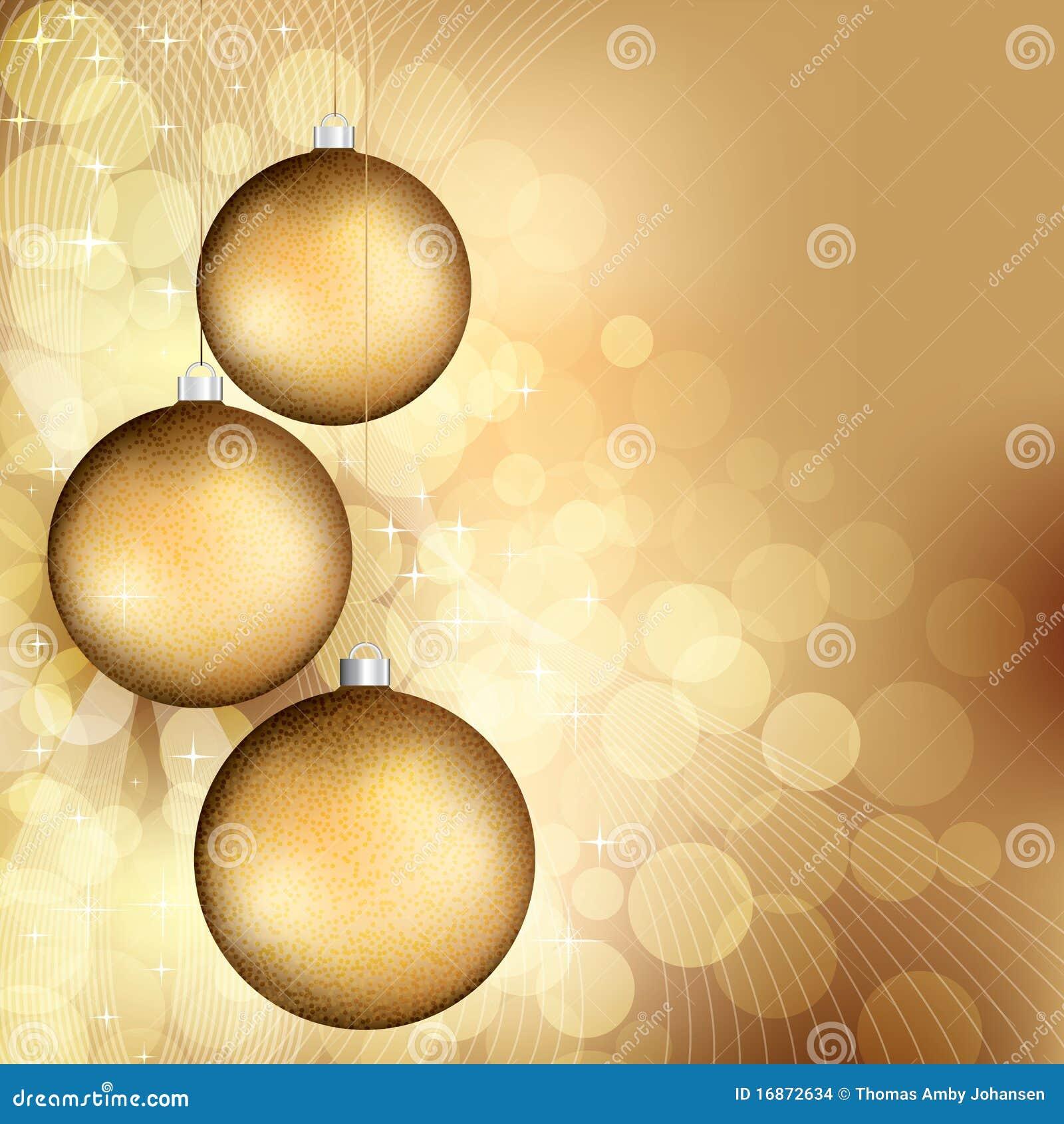 Fundo dourado do Natal
