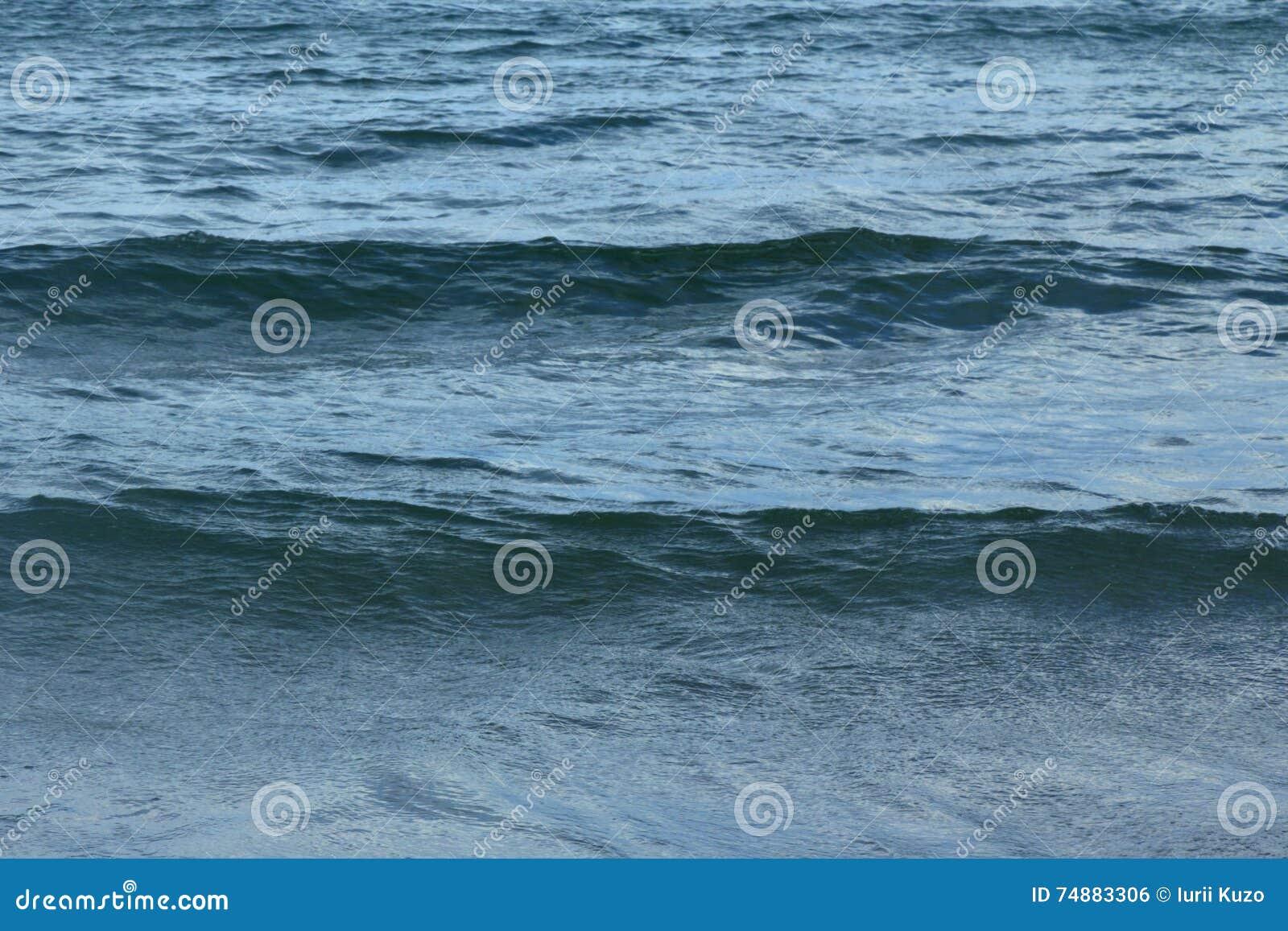 Fundo dramático do mar Mar Mediterrâneo, Montenegro, Europa