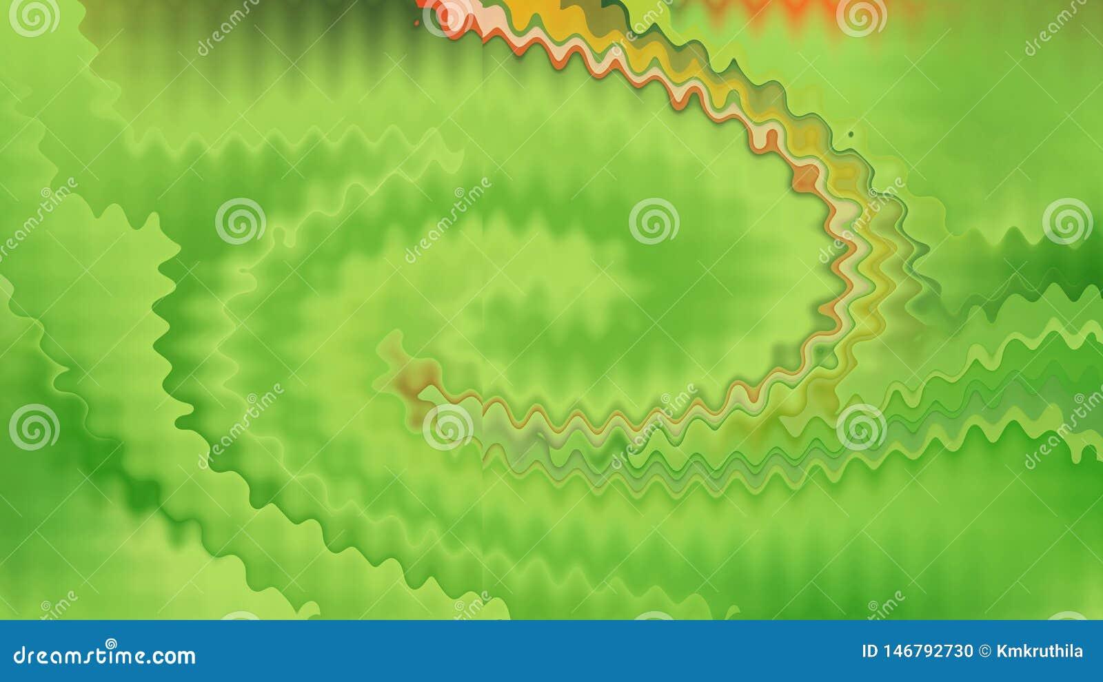 Fundo elegante bonito do projeto da arte gráfica da ilustração do fundo amarelo verde do teste padrão
