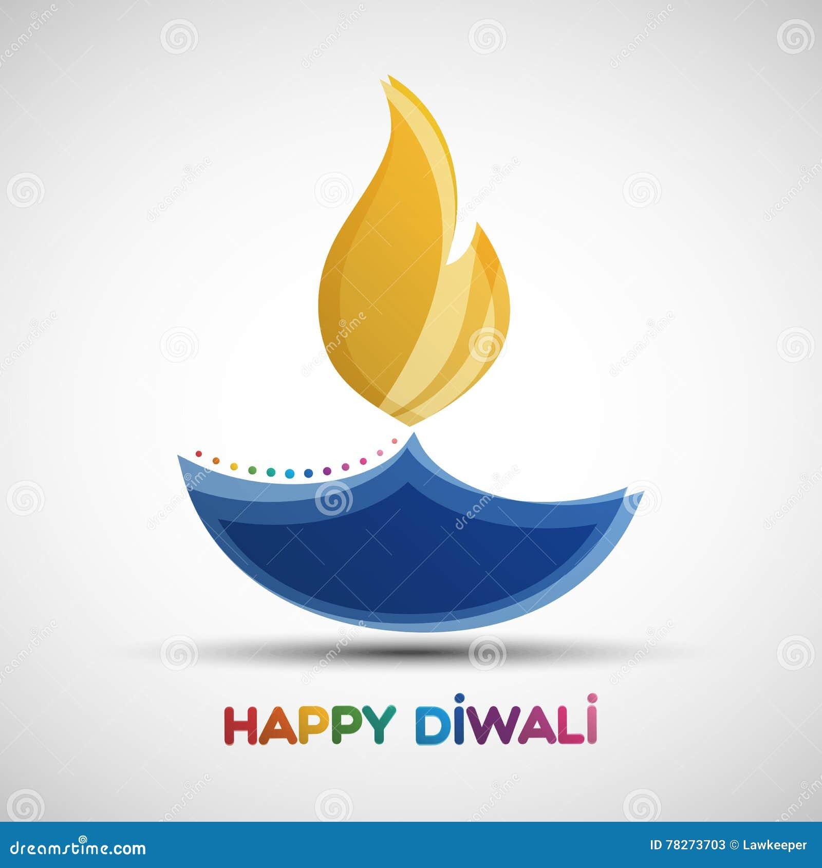 Fundo feliz do sumário de Diwali