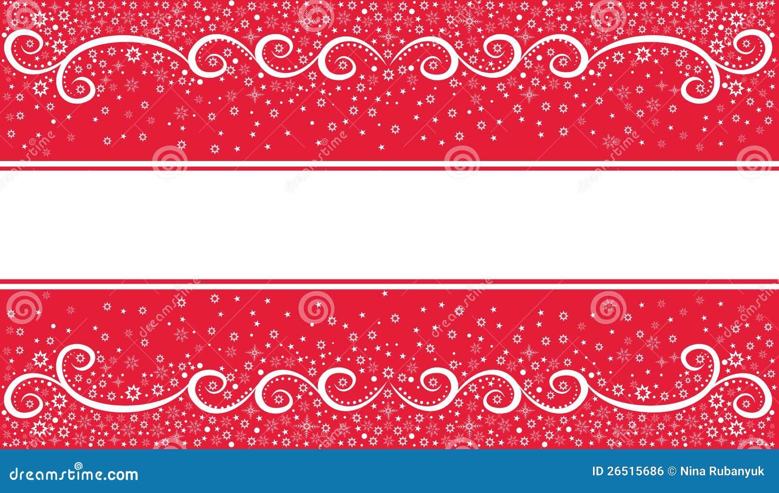 Fundo festivo do Natal no vermelho