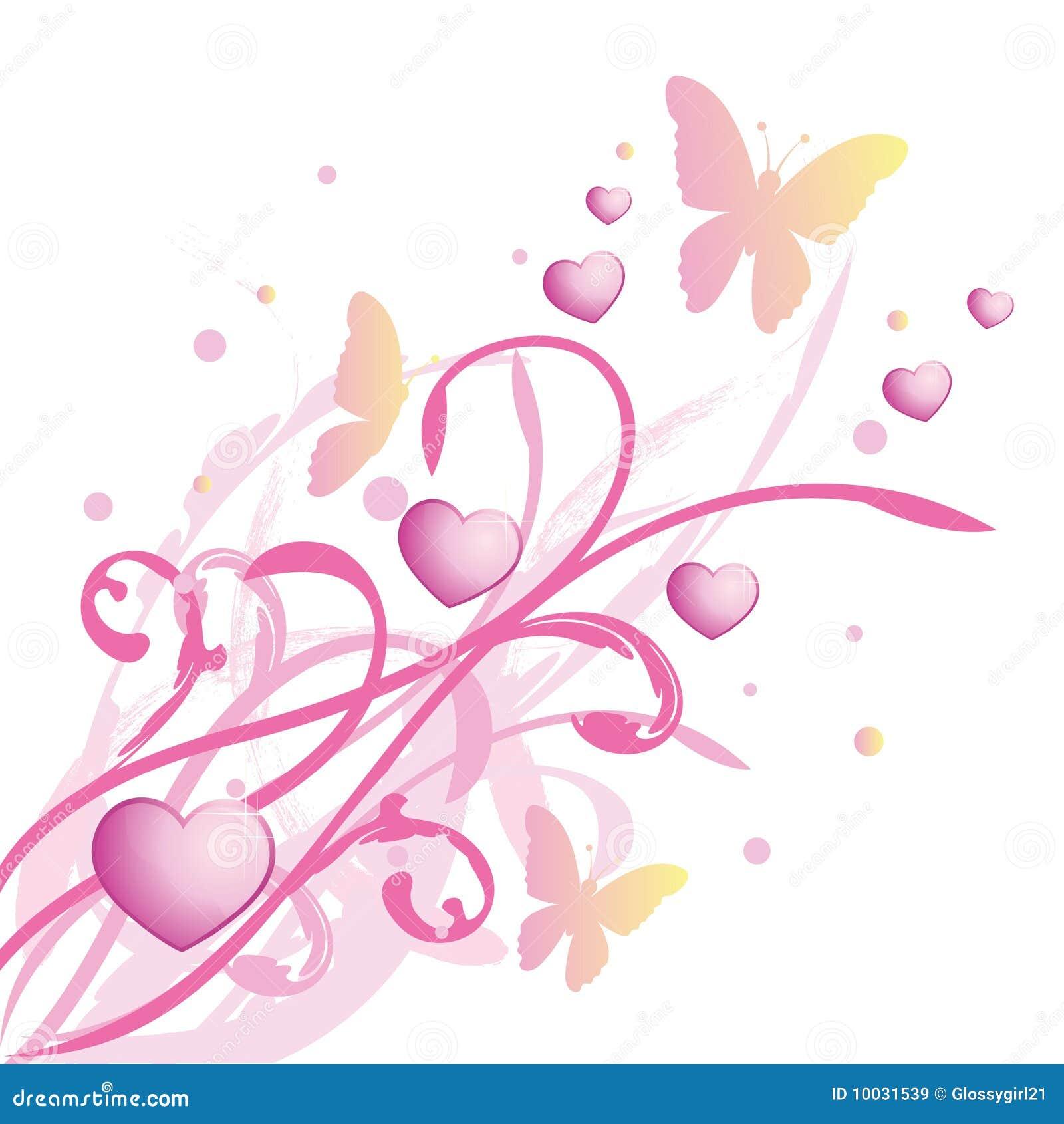 Fundo floral cor-de-rosa da mola