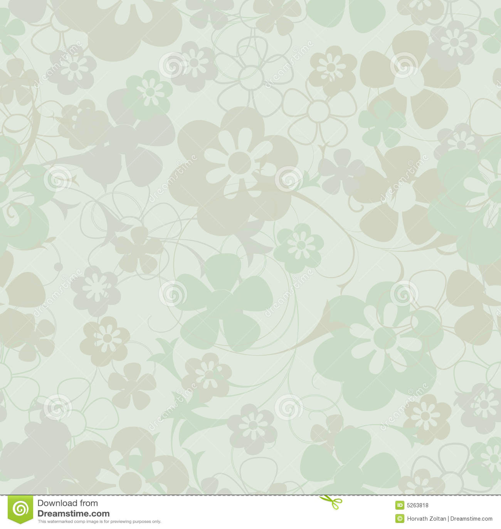 Fundo floral sem emenda