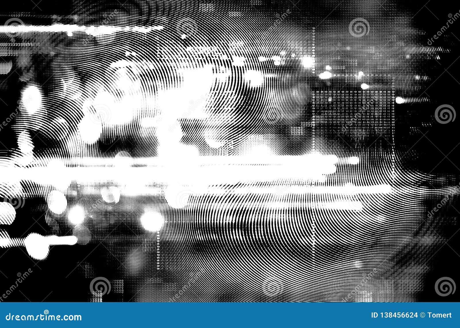 Fundo futurista do estilo retro dos anos 80 Digitas ou superfície do Cyber luzes de néon e teste padrão geométrico, pulso aleatór