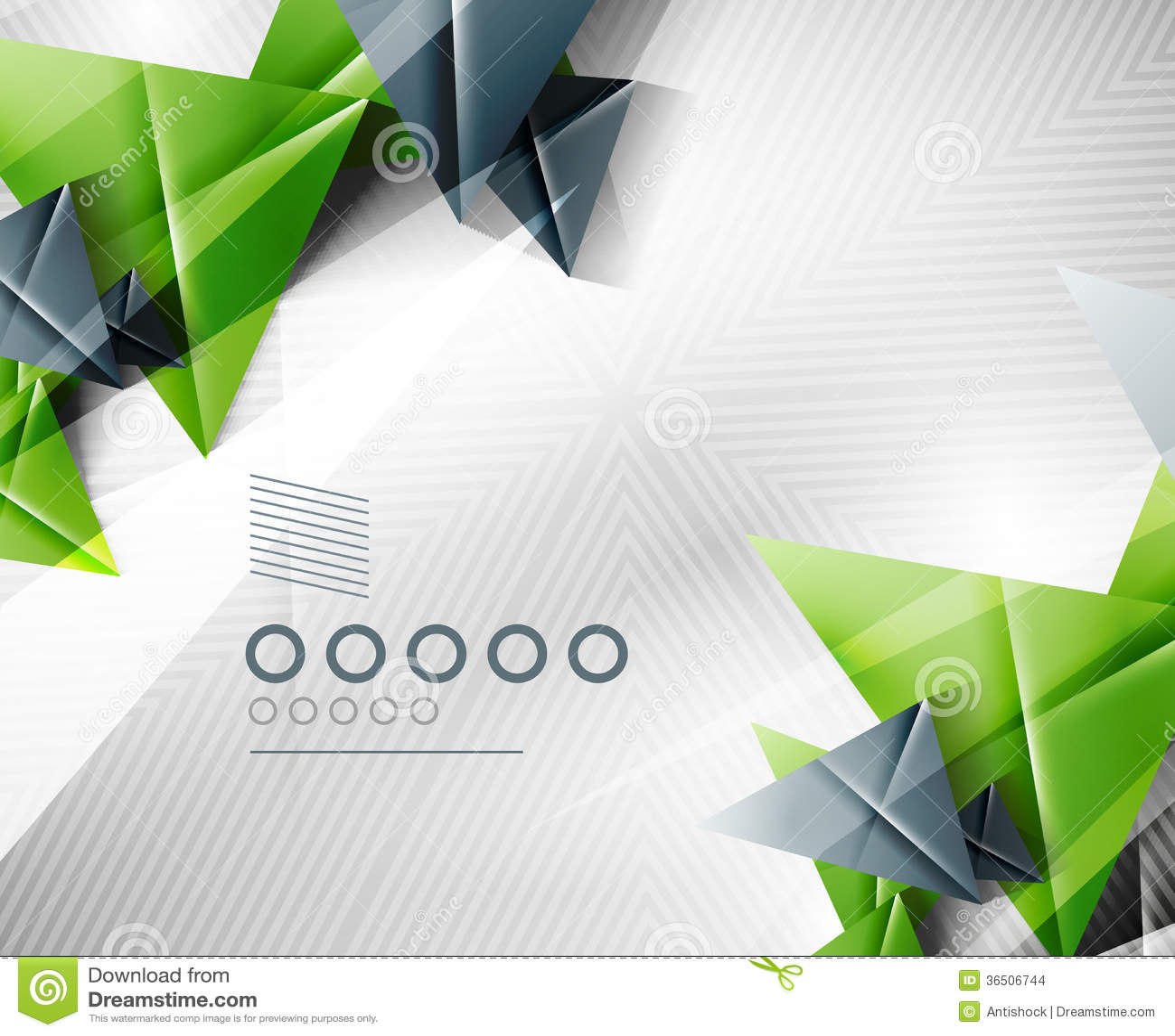 Fundo geométrico do triângulo do sumário da forma
