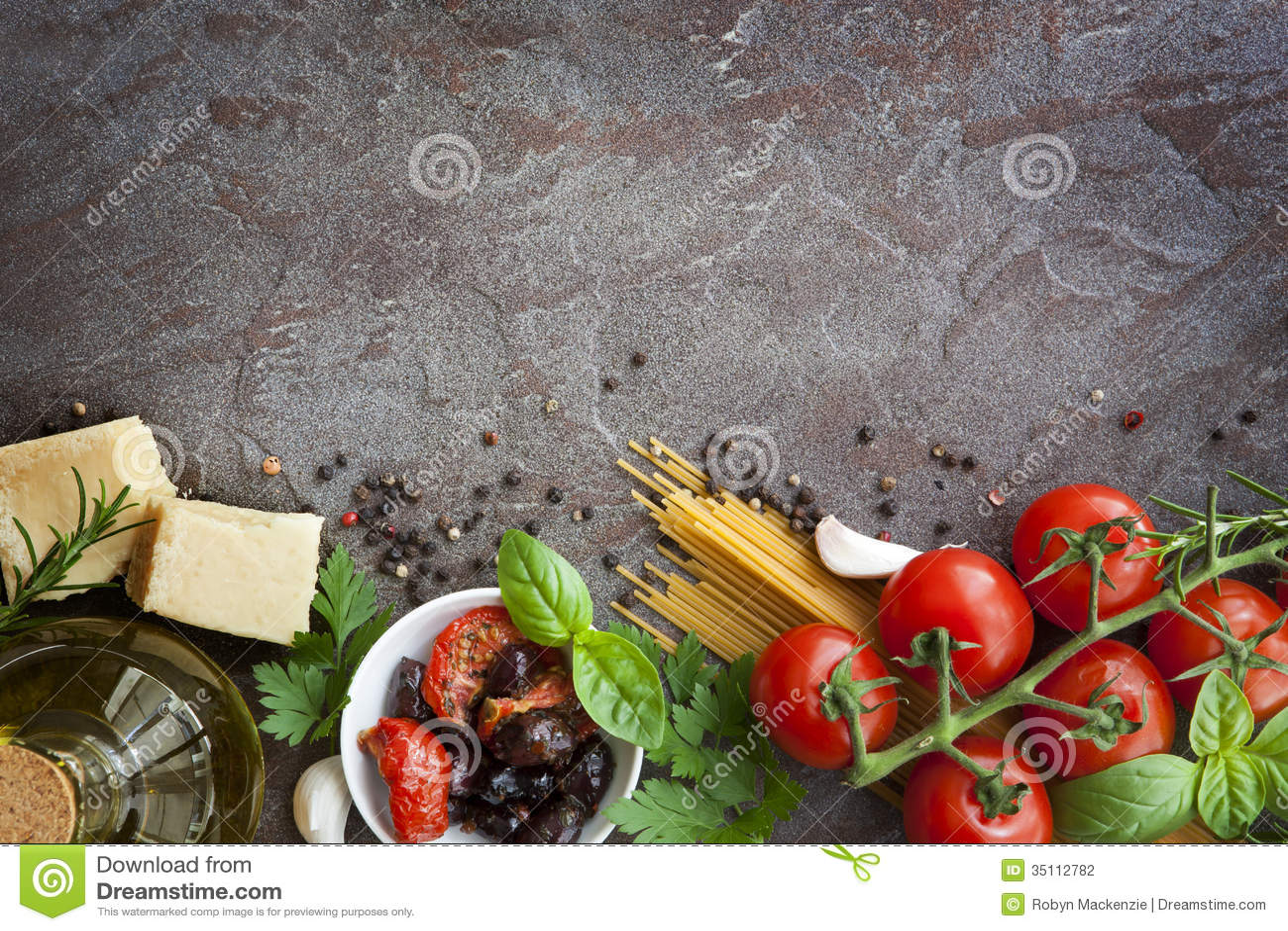 Fundo italiano do alimento