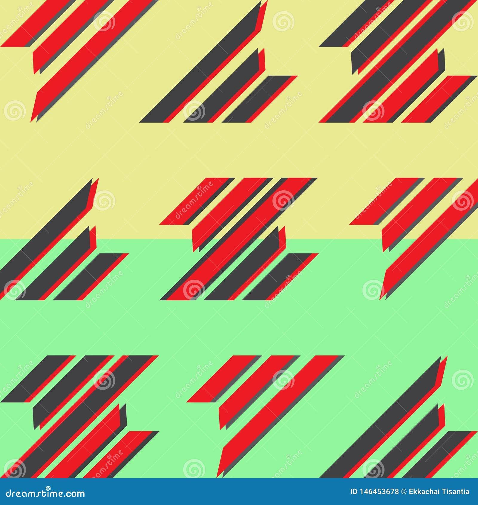 Fundo liso abstrato do projeto Projeto din?mico da bandeira do estilo Cartaz geom?trico do teste padr?o Teste padrão da tampa do