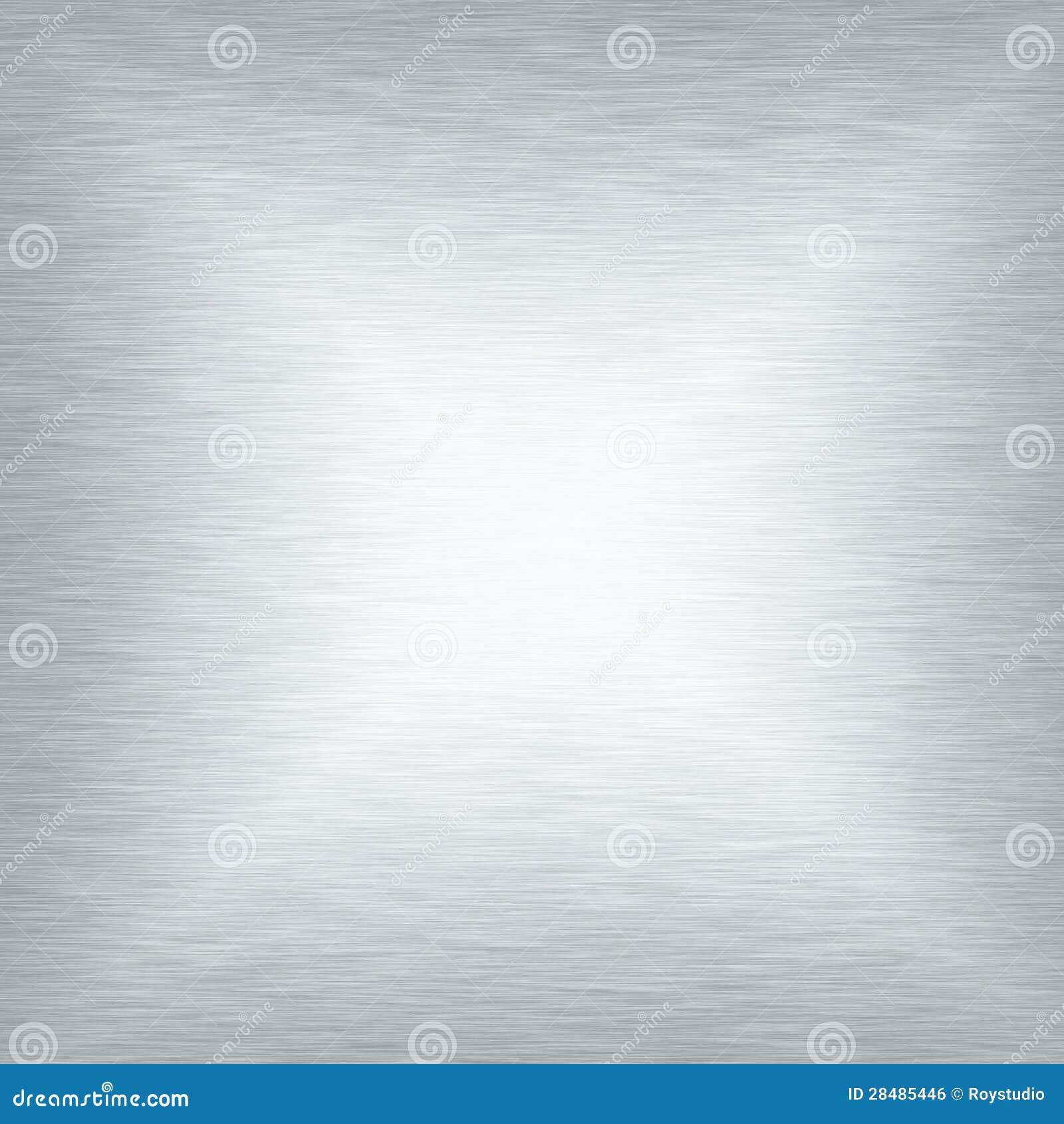 Fundo liso do sumário da placa da textura do metal branco