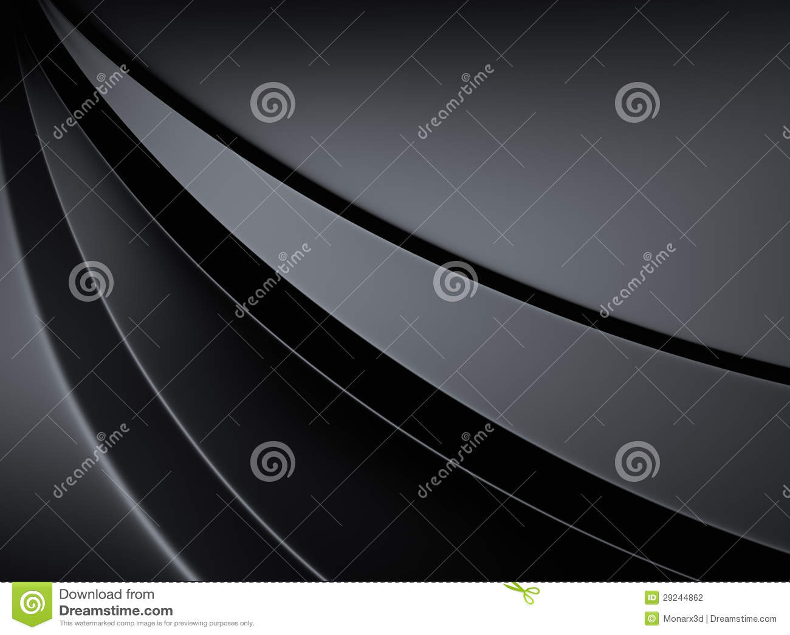 Download Fundo Metálico Elegante Com Linhas Da Curva Ilustração Stock - Ilustração de elegance, curvado: 29244862