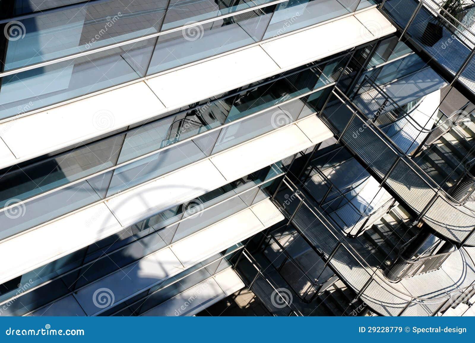 Download Fundo Moderno Da Arquitetura Imagem de Stock - Imagem de escada, janela: 29228779