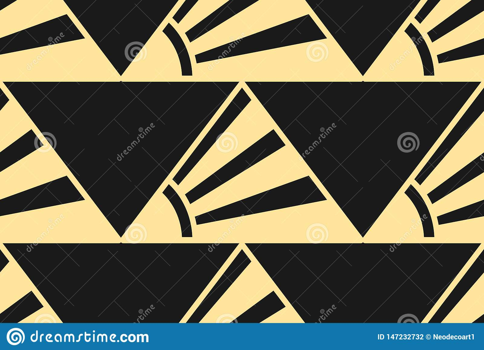 Fundo moderno de Art Deco