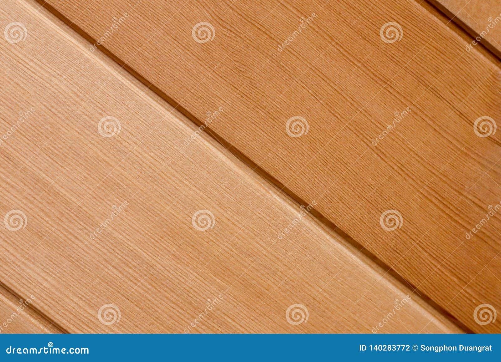 Fundo oblíquo de madeira da textura dos testes padrões