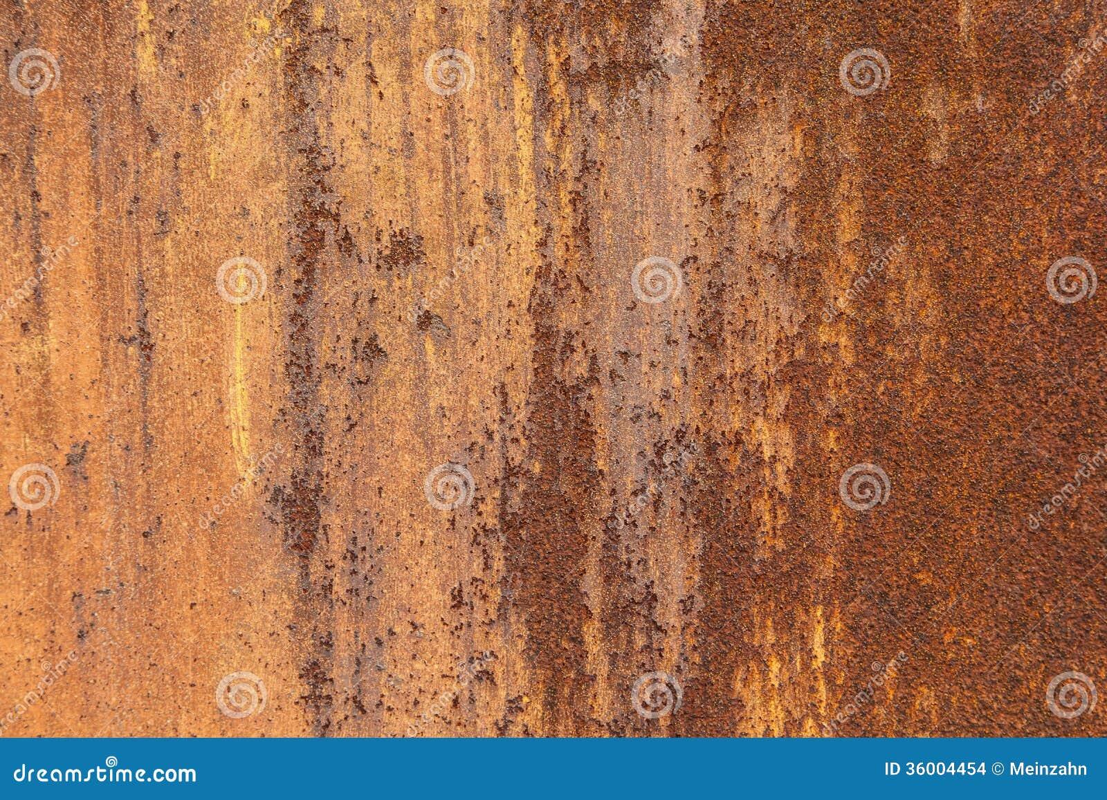 Fundo oxidado do metal