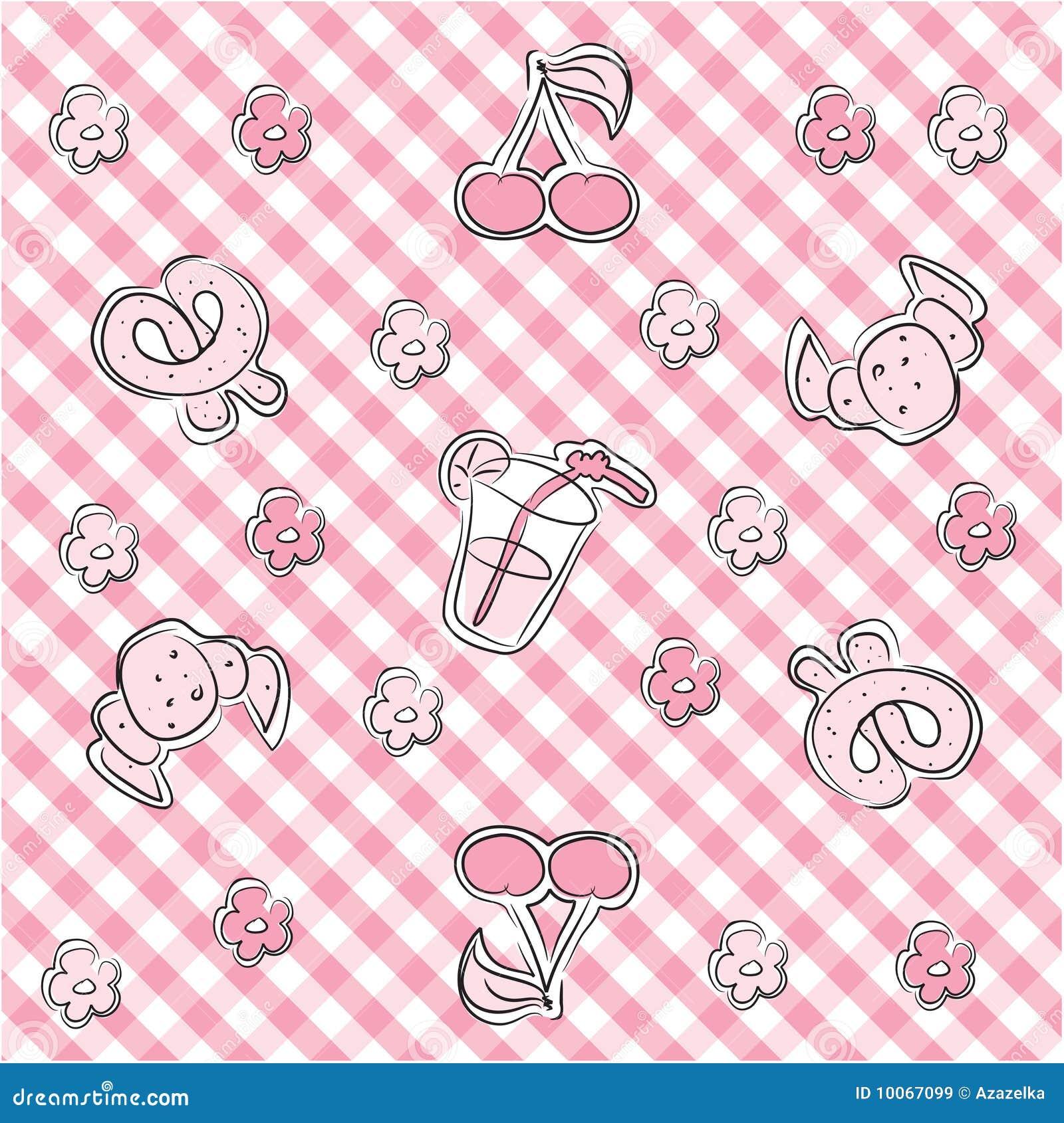 Fundo pastel cor-de-rosa do bebê