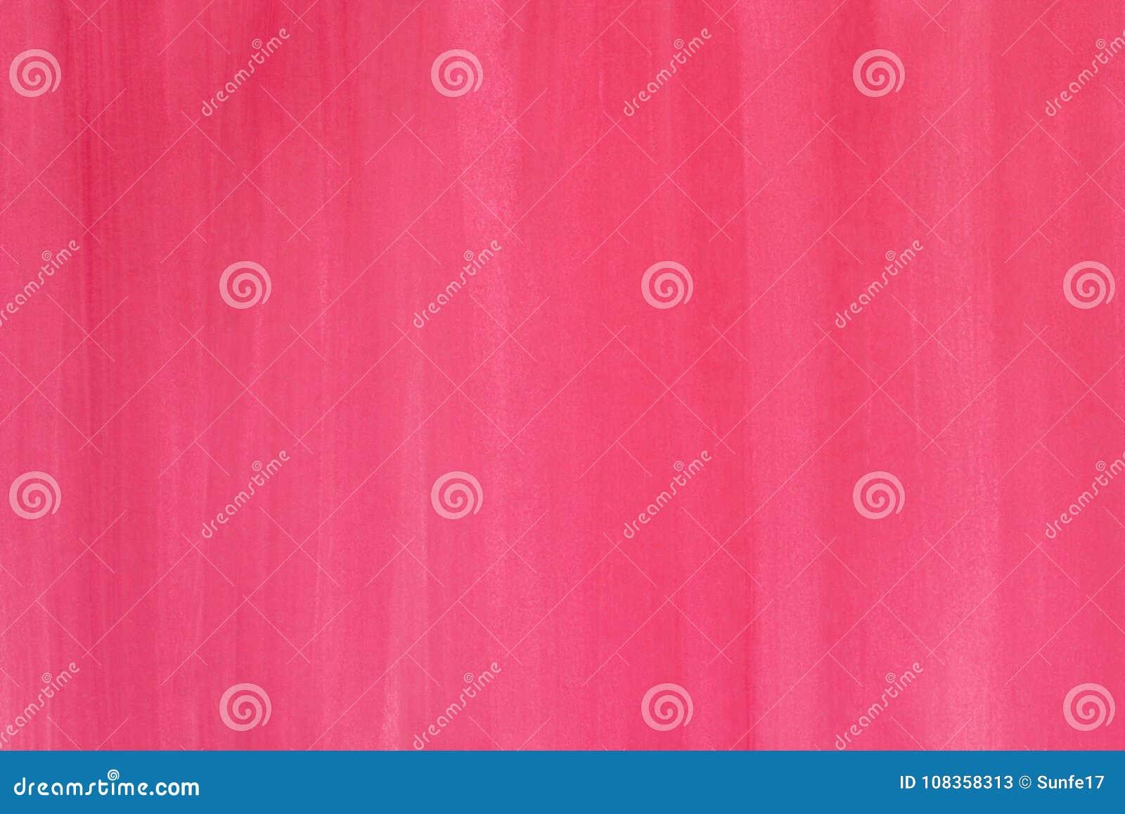 Fundo pintado à mão abstrato cor-de-rosa da aquarela