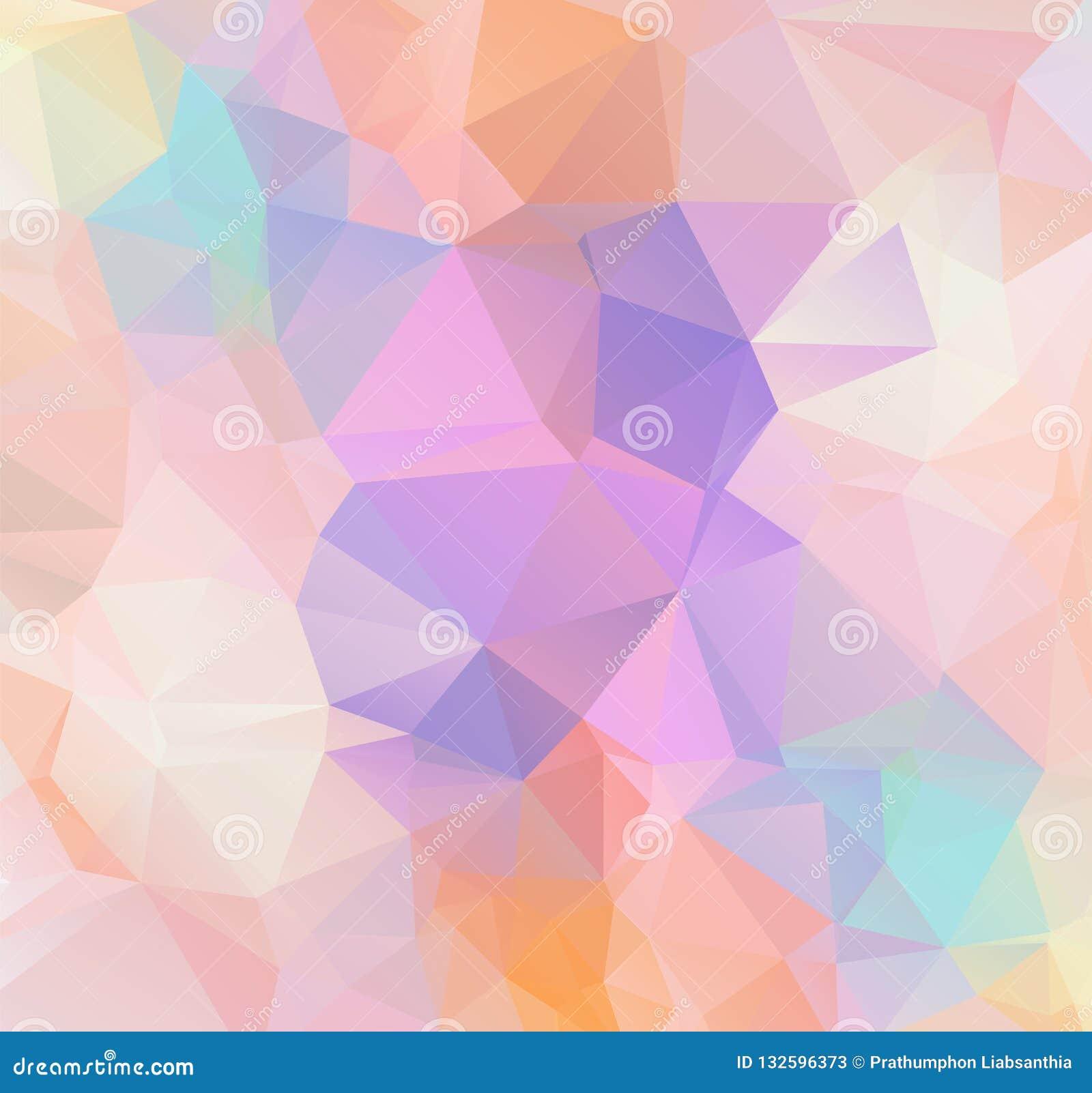 Fundo poligonal geométrico do sumário - baixo patt poli do triângulo