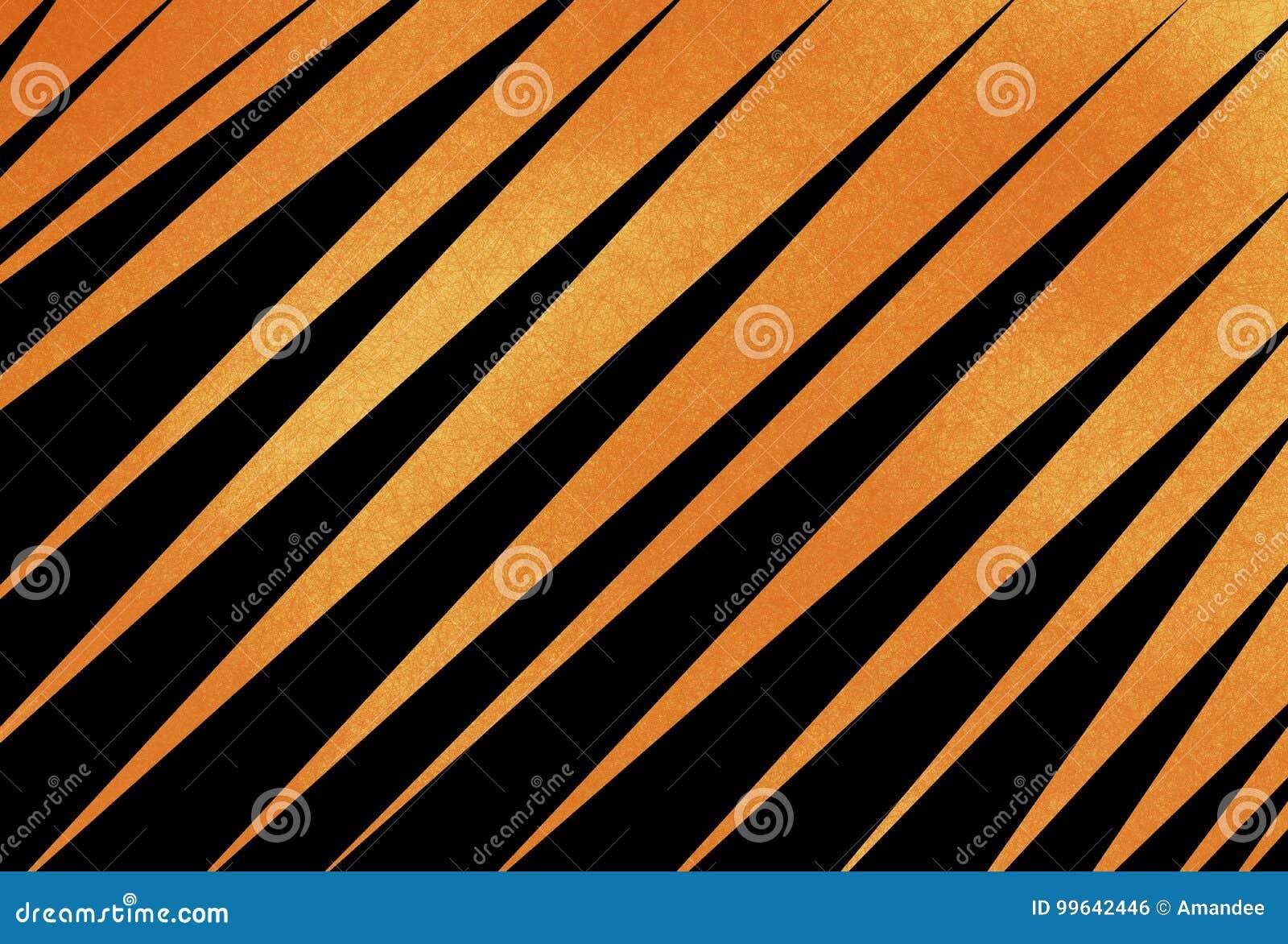 Fundo preto e alaranjado abstrato com as listras diagonais ou angulares e a textura