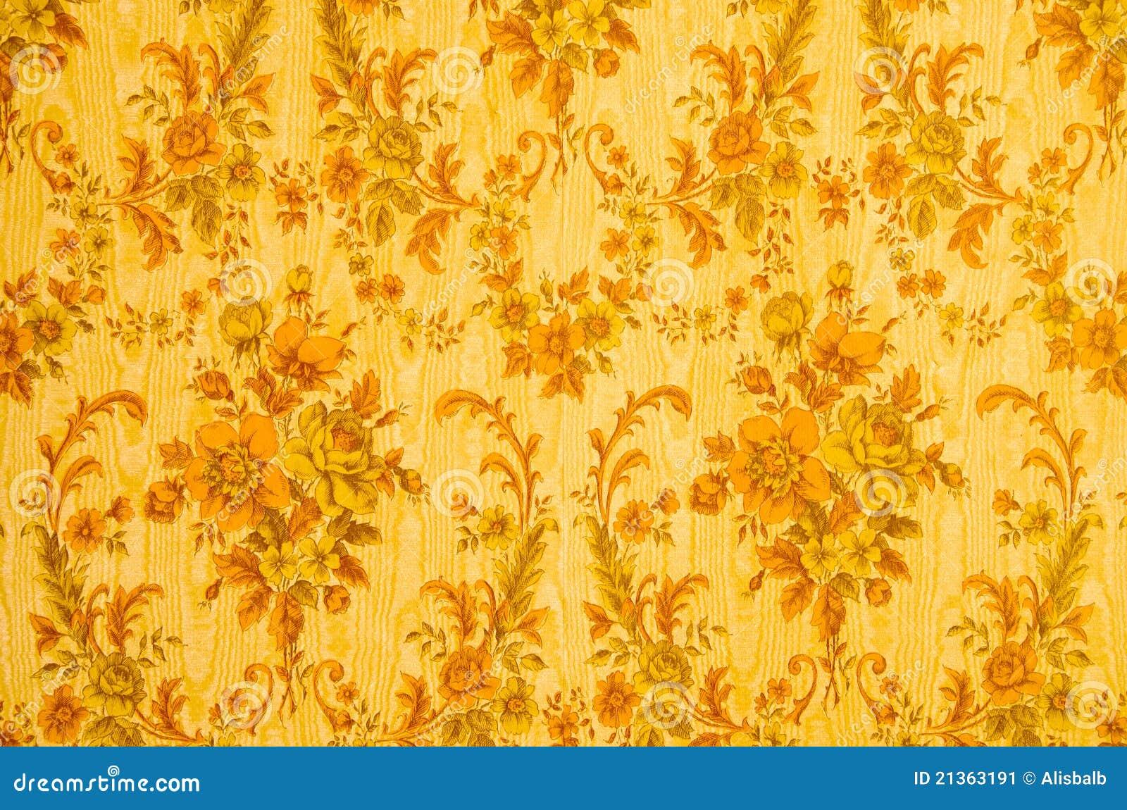 Fundo retro do papel de parede imagem de stock imagem for Papel de pared decorativo