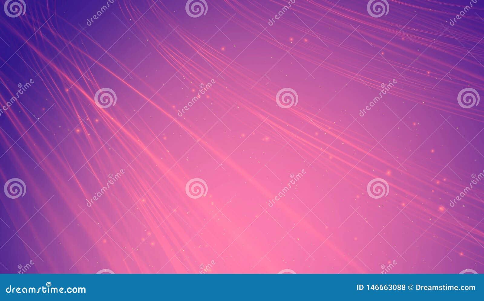 Fundo roxo brilhante da energia do sumário