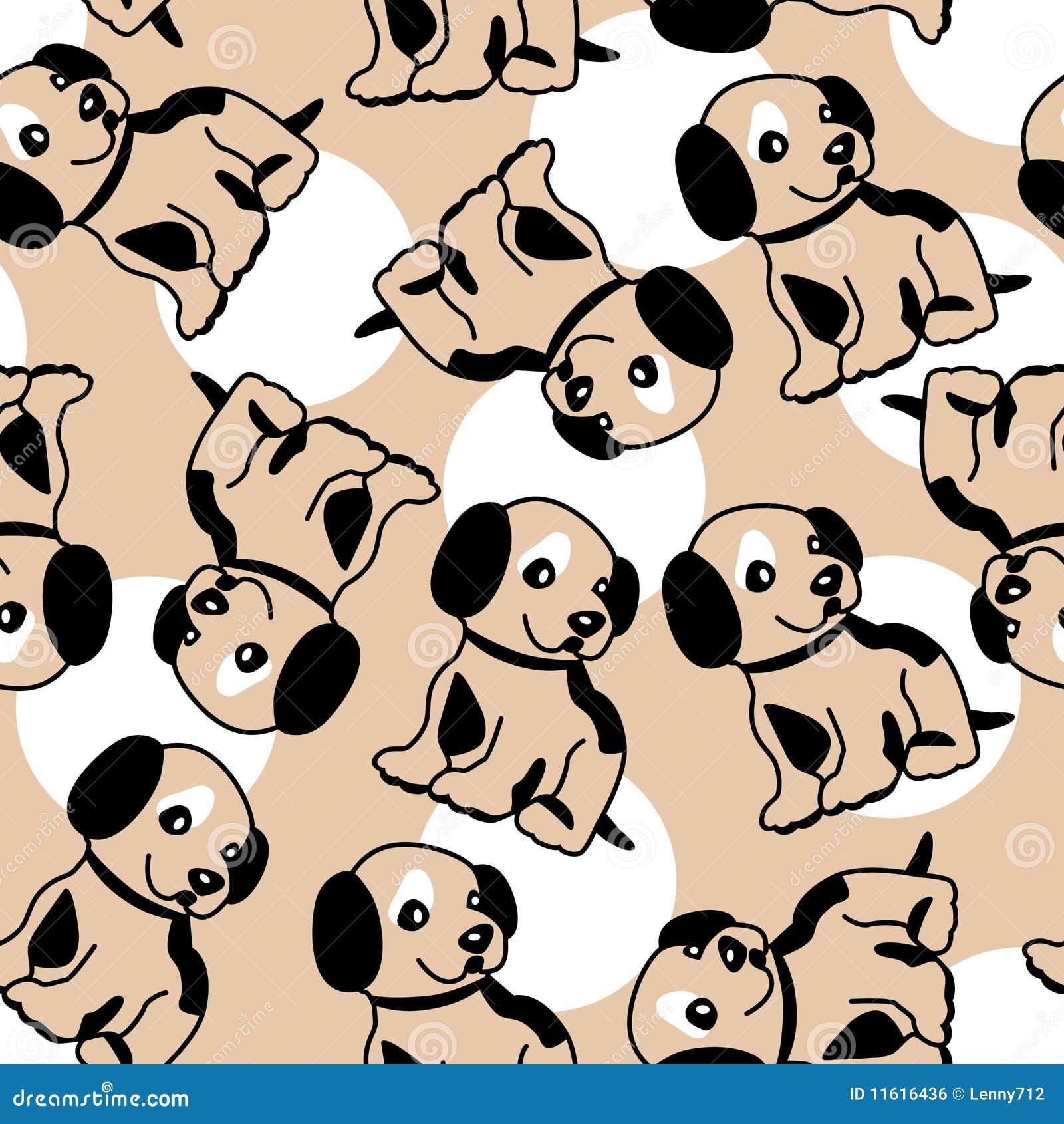 fundo sem emenda com filhote de cachorro ilustra u00e7 u00e3o do border collie clipart free cartoon border collie clipart