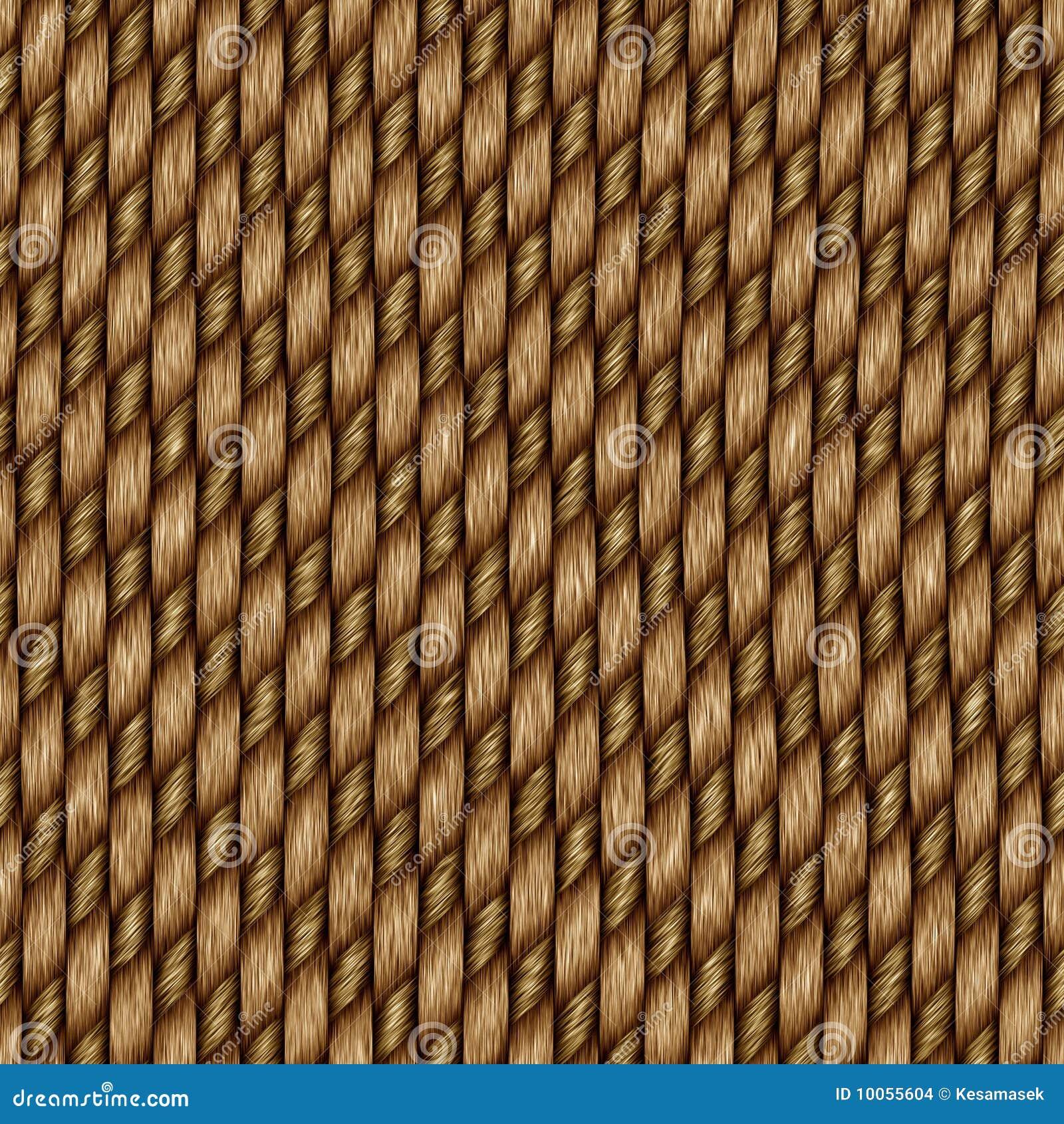 Fundo sem emenda do weave do rattan