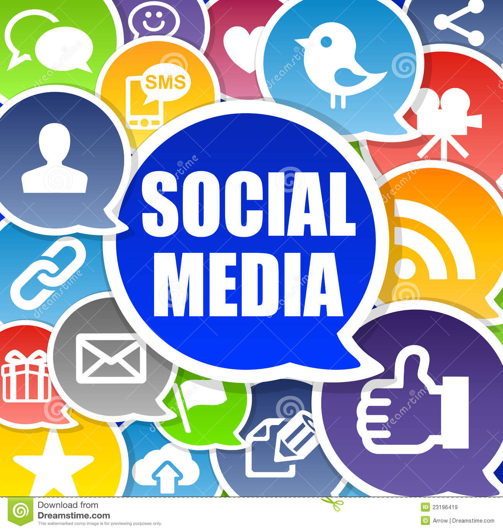 Fundo social dos media