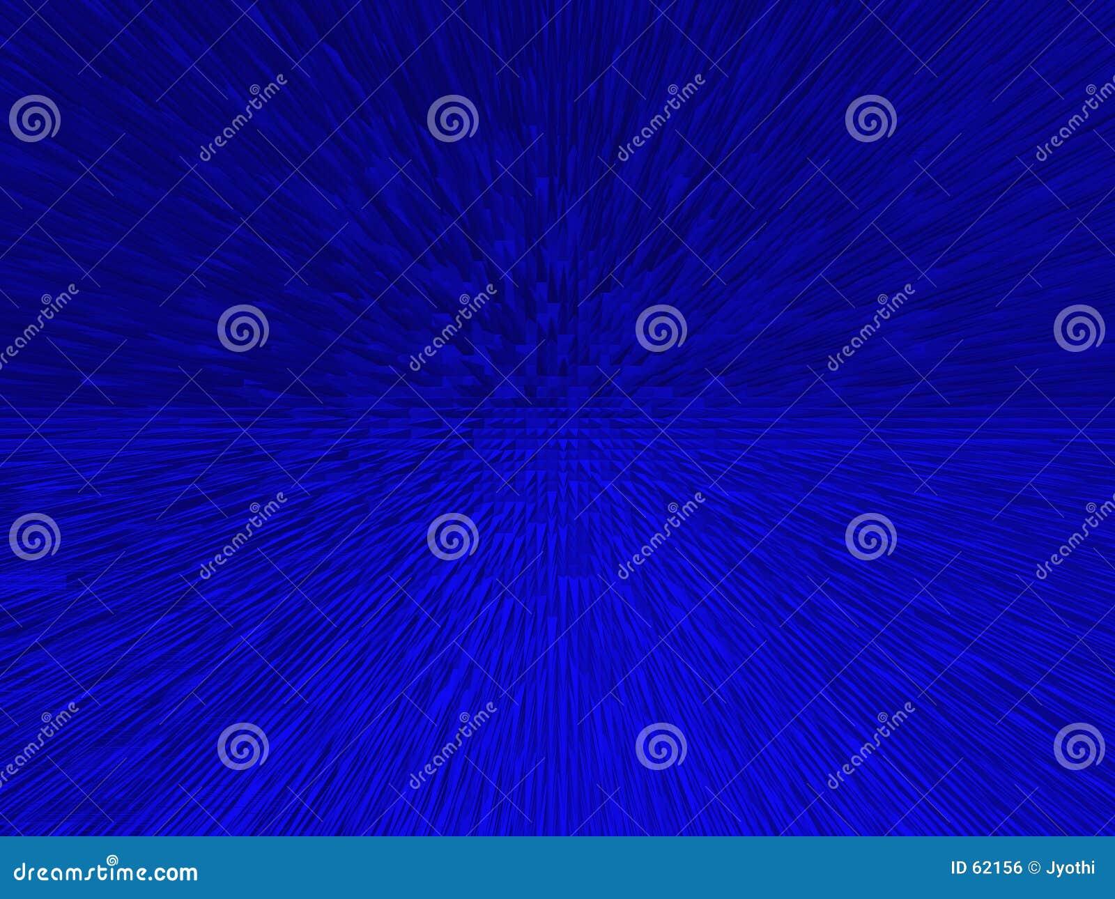 Fundo spiky azul