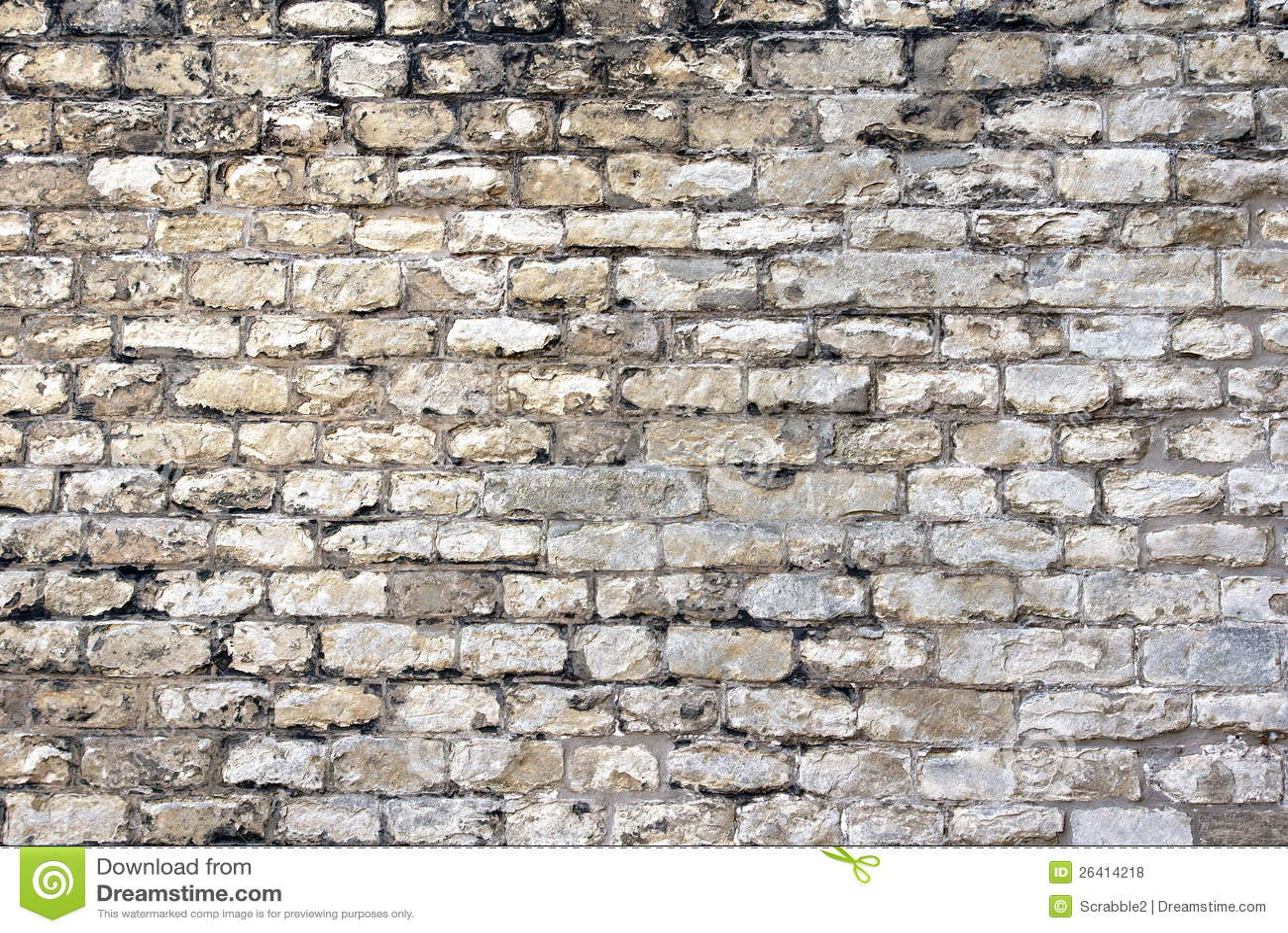 Fundo velho da parede de tijolo